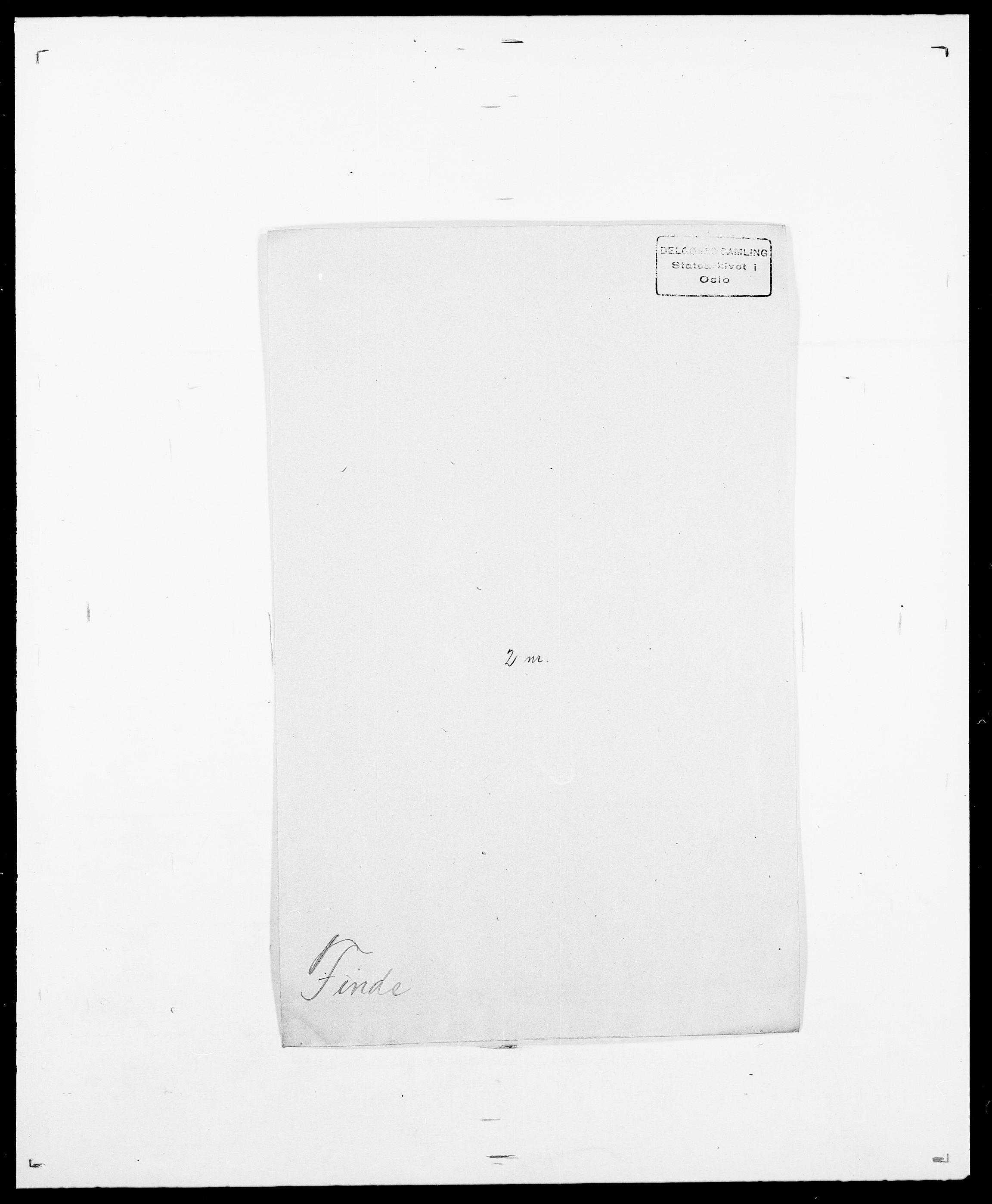 SAO, Delgobe, Charles Antoine - samling, D/Da/L0011: Fahlander - Flood, Flod, s. 464