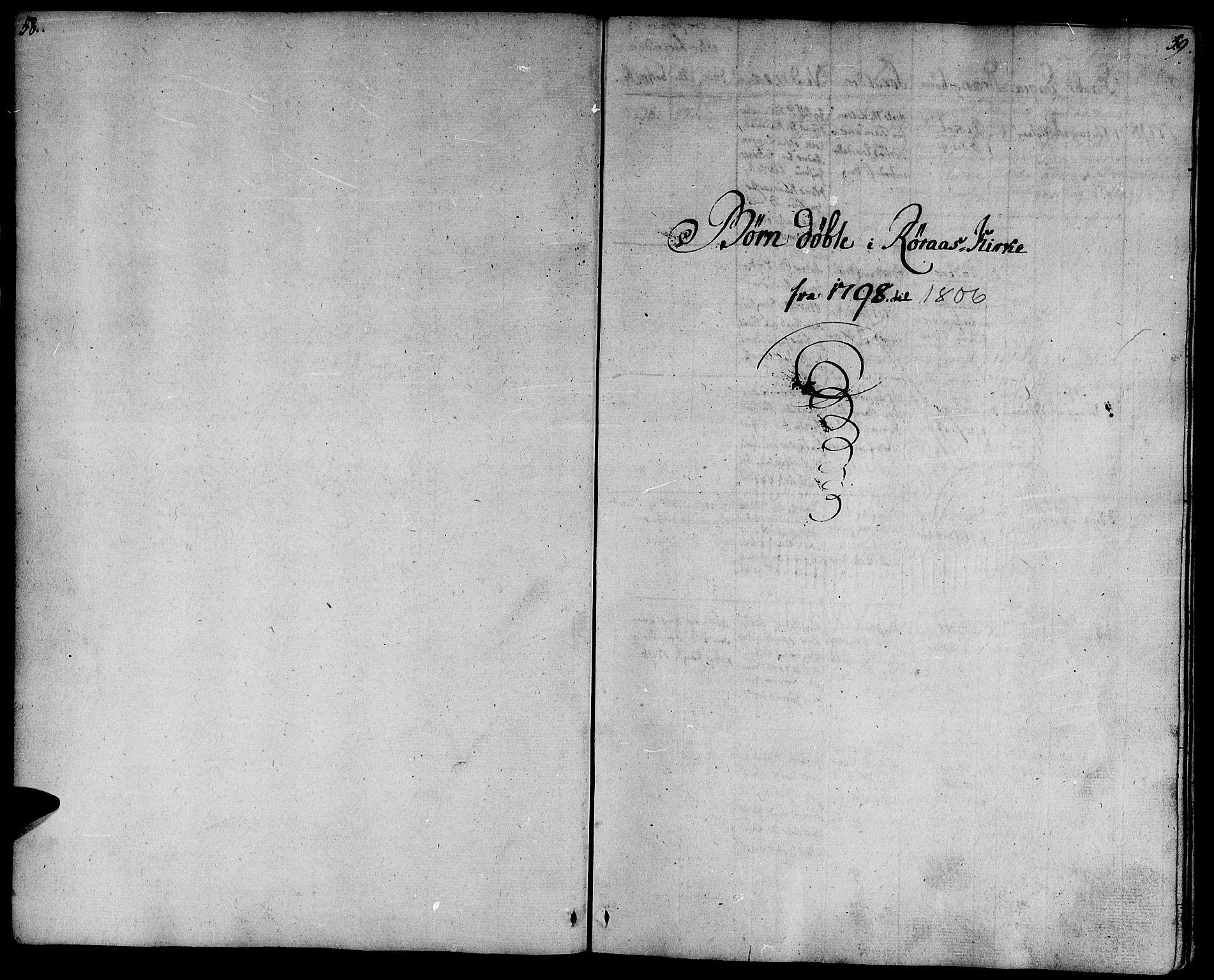 SAT, Ministerialprotokoller, klokkerbøker og fødselsregistre - Sør-Trøndelag, 681/L0927: Ministerialbok nr. 681A05, 1798-1808, s. 58-59