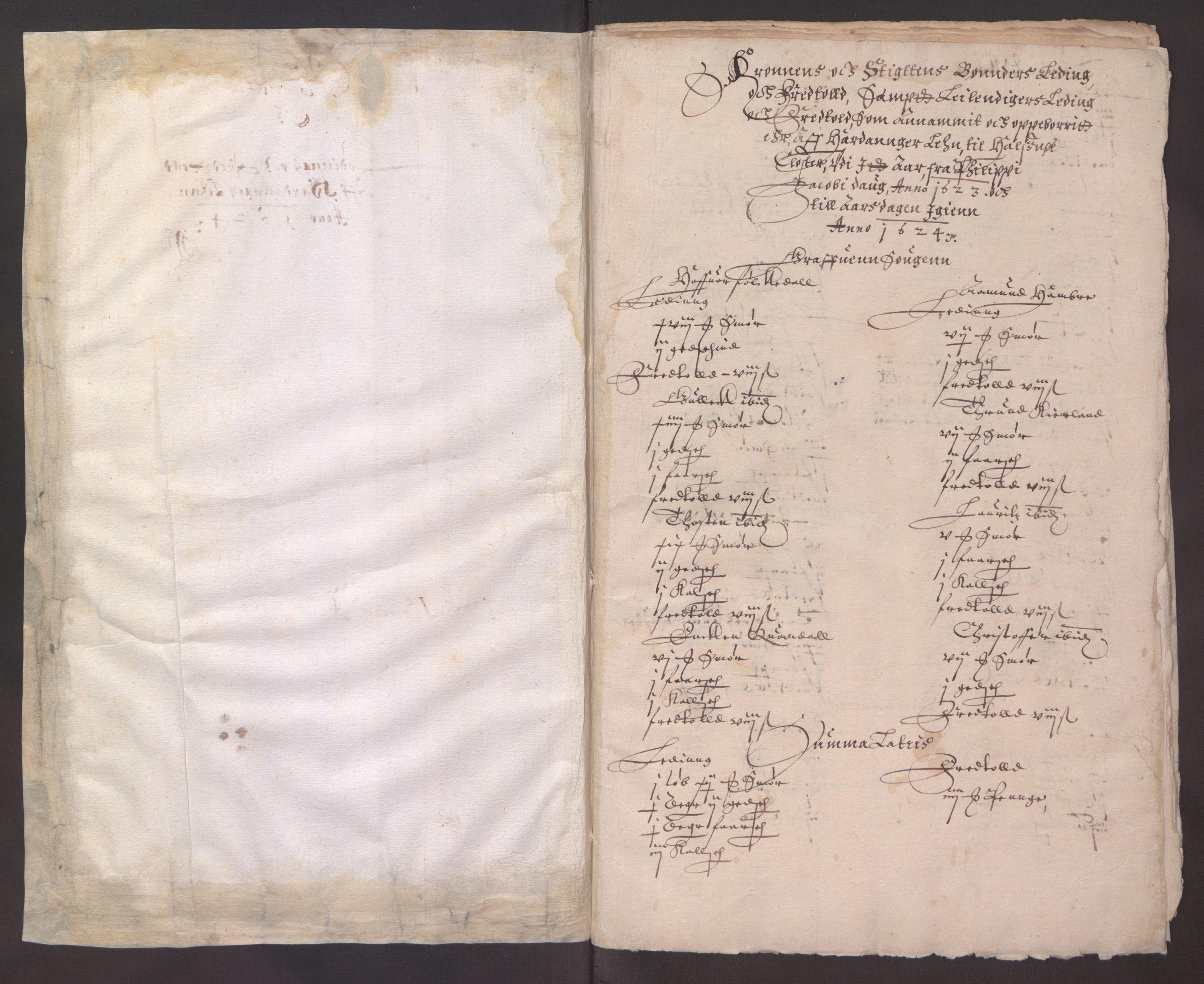 RA, Stattholderembetet 1572-1771, Ek/L0003: Jordebøker til utlikning av garnisonsskatt 1624-1626:, 1624-1625, s. 192