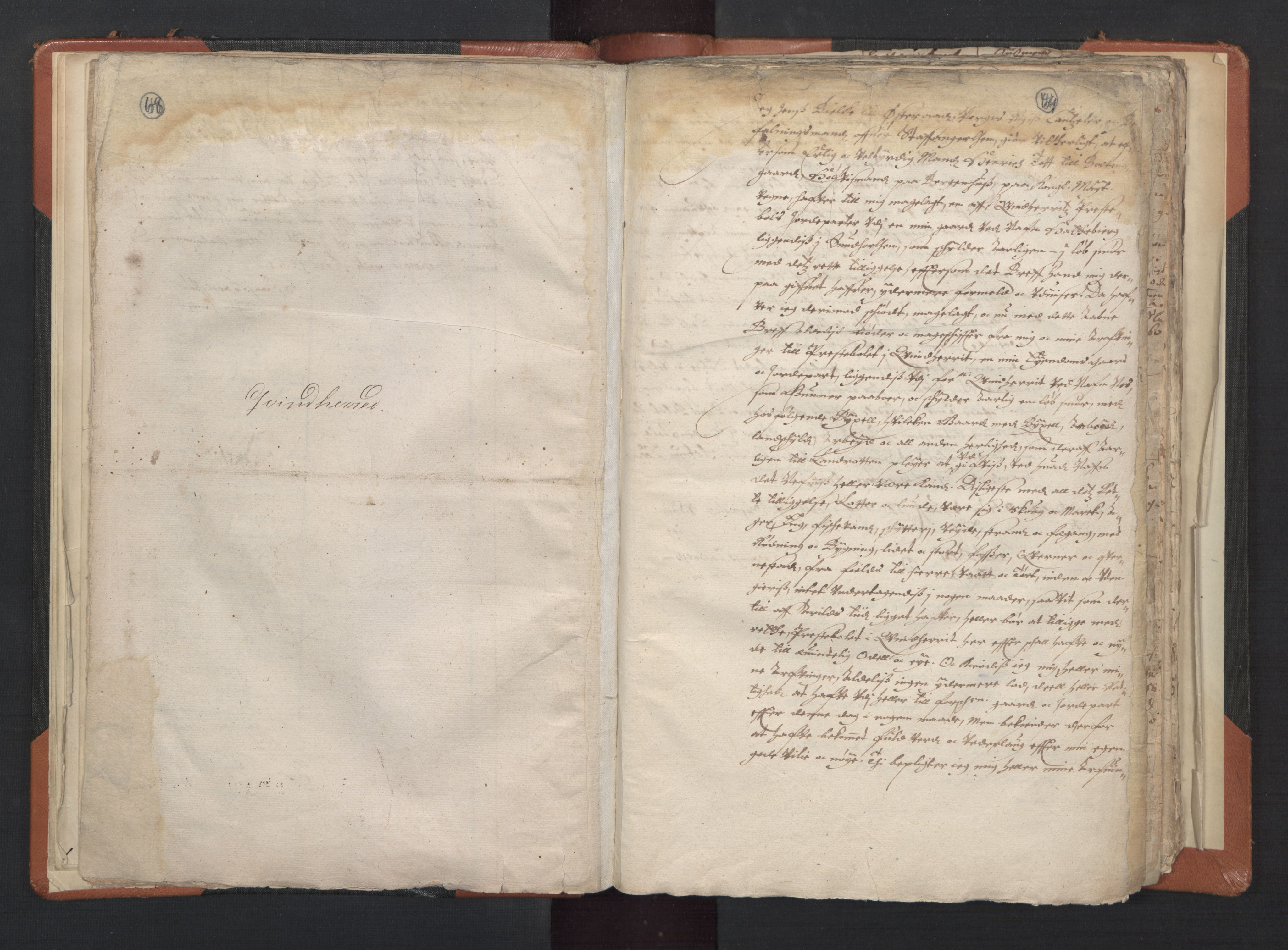 RA, Sogneprestenes manntall 1664-1666, nr. 20: Sunnhordland prosti, 1664-1666, s. 68-69