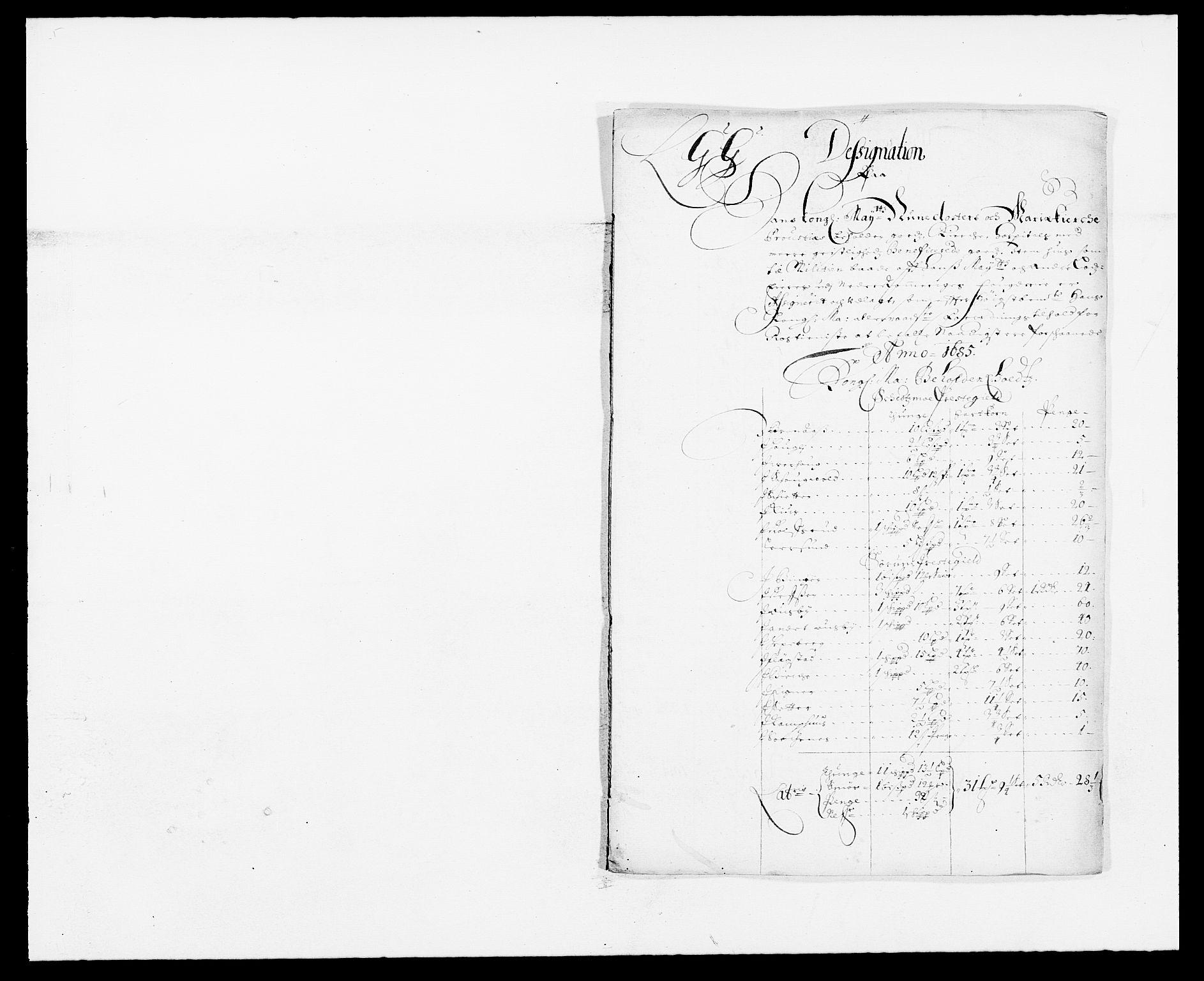 RA, Rentekammeret inntil 1814, Reviderte regnskaper, Fogderegnskap, R11/L0571: Fogderegnskap Nedre Romerike, 1683-1685, s. 569