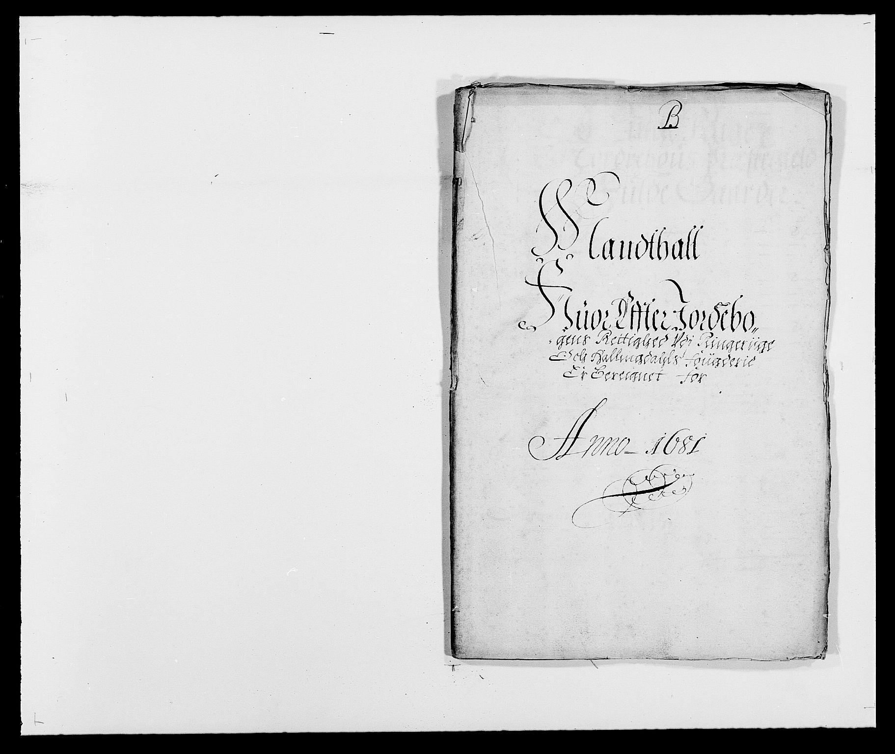 RA, Rentekammeret inntil 1814, Reviderte regnskaper, Fogderegnskap, R21/L1445: Fogderegnskap Ringerike og Hallingdal, 1681-1689, s. 41