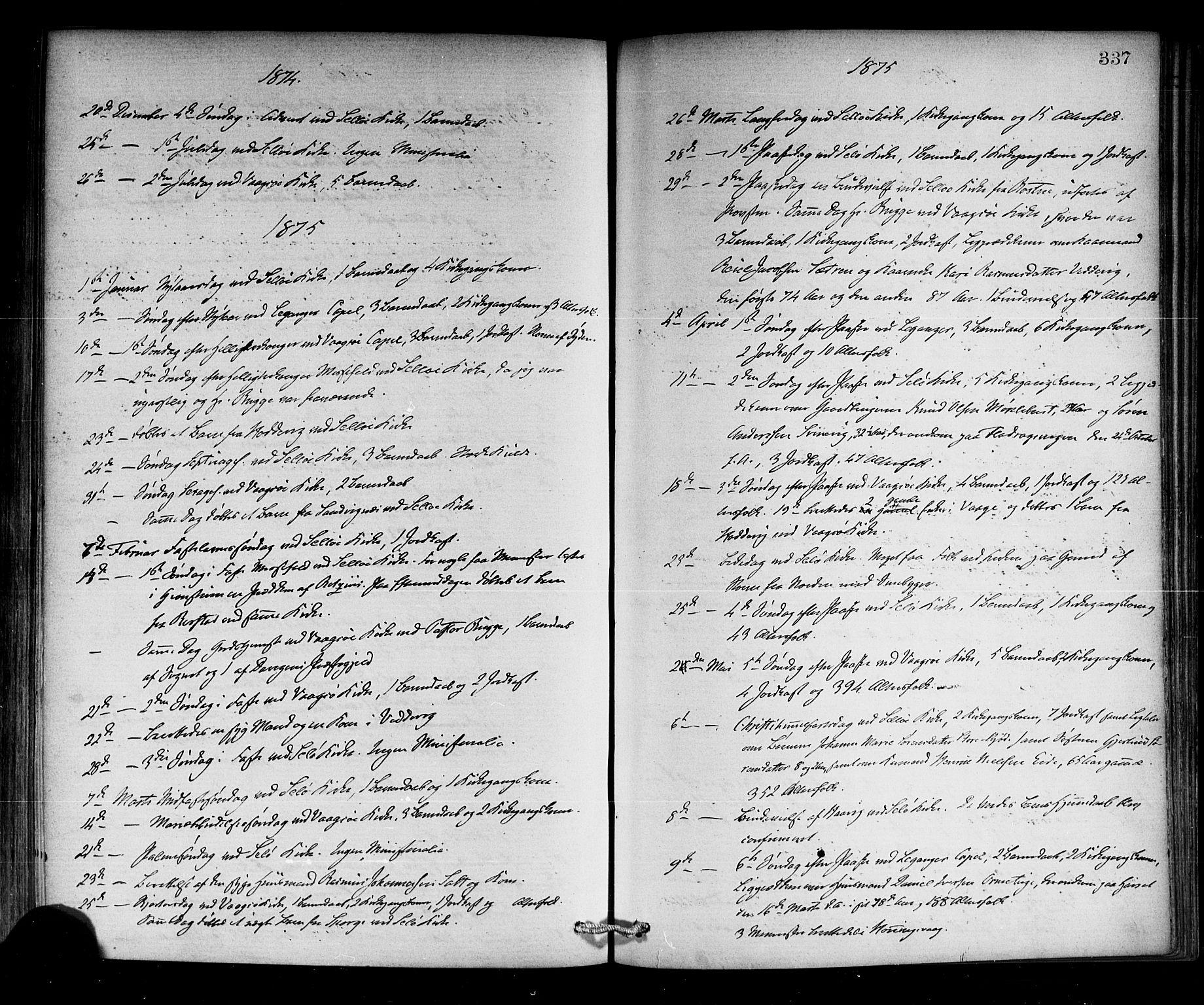 SAB, Selje sokneprestembete*, Ministerialbok nr. A 12, 1870-1880, s. 337