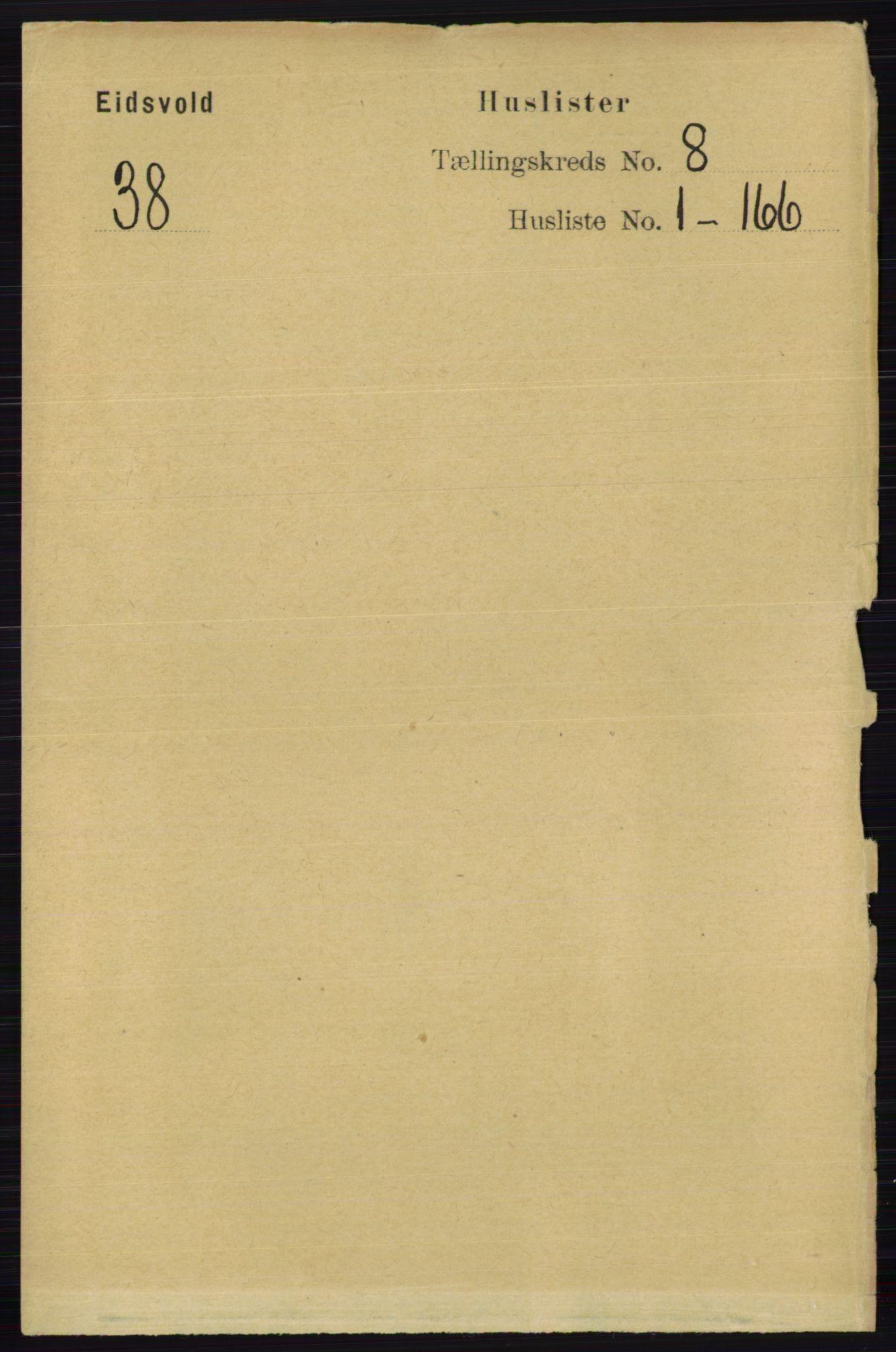 RA, Folketelling 1891 for 0237 Eidsvoll herred, 1891, s. 5103