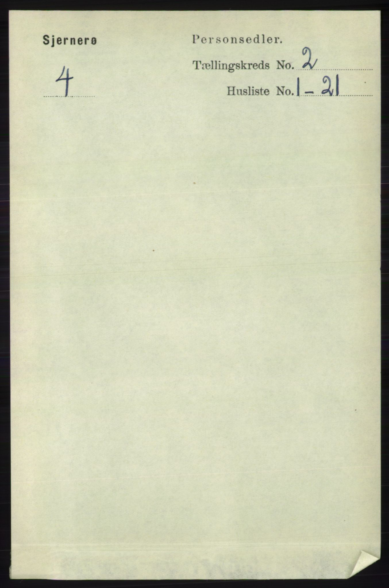 RA, Folketelling 1891 for 1140 Sjernarøy herred, 1891, s. 243