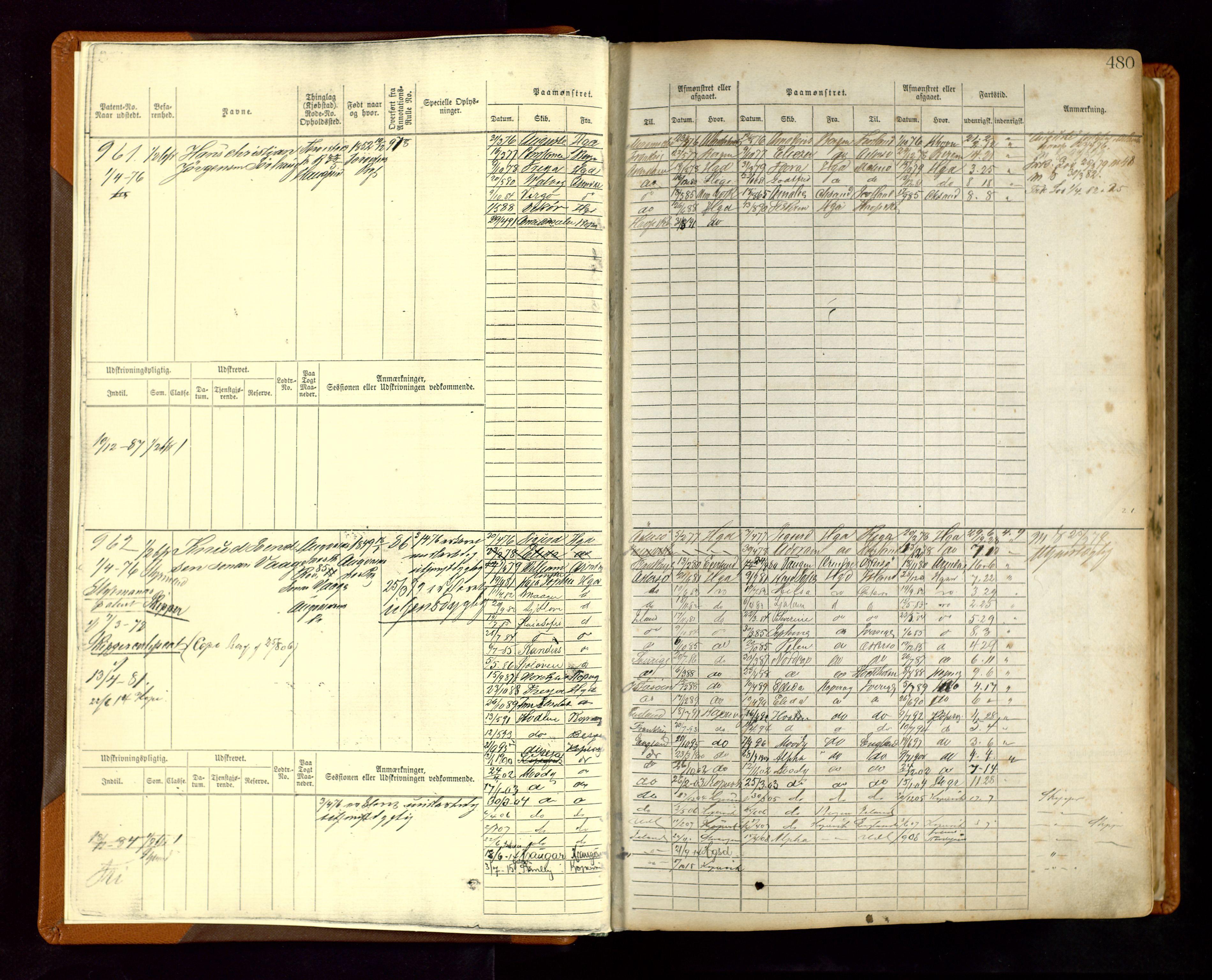 SAST, Haugesund sjømannskontor, F/Fb/Fbb/L0004: Sjøfartsrulle Haugesund krets nr. 1-1922, 1868-1948, s. 480