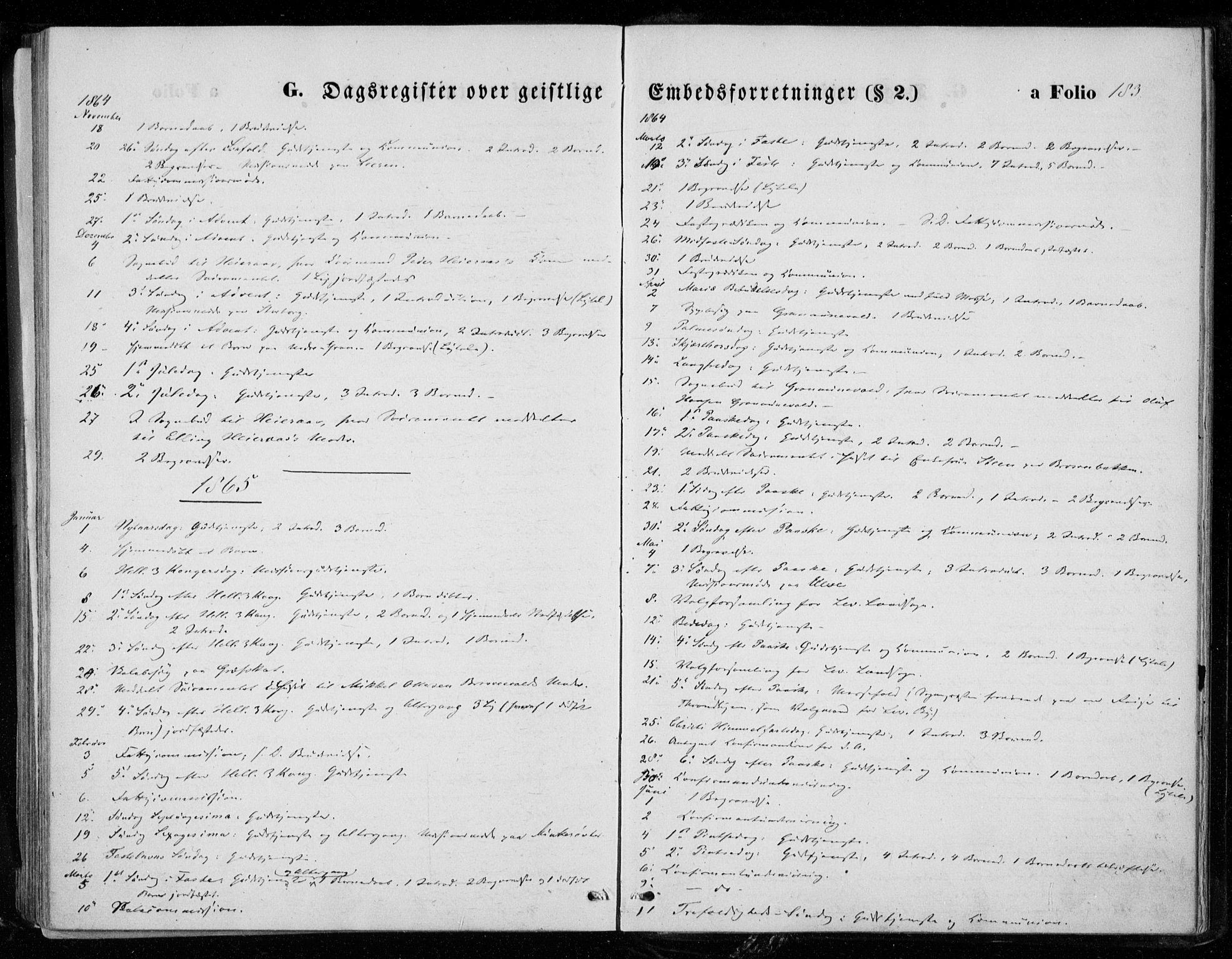 SAT, Ministerialprotokoller, klokkerbøker og fødselsregistre - Nord-Trøndelag, 721/L0206: Ministerialbok nr. 721A01, 1864-1874, s. 183