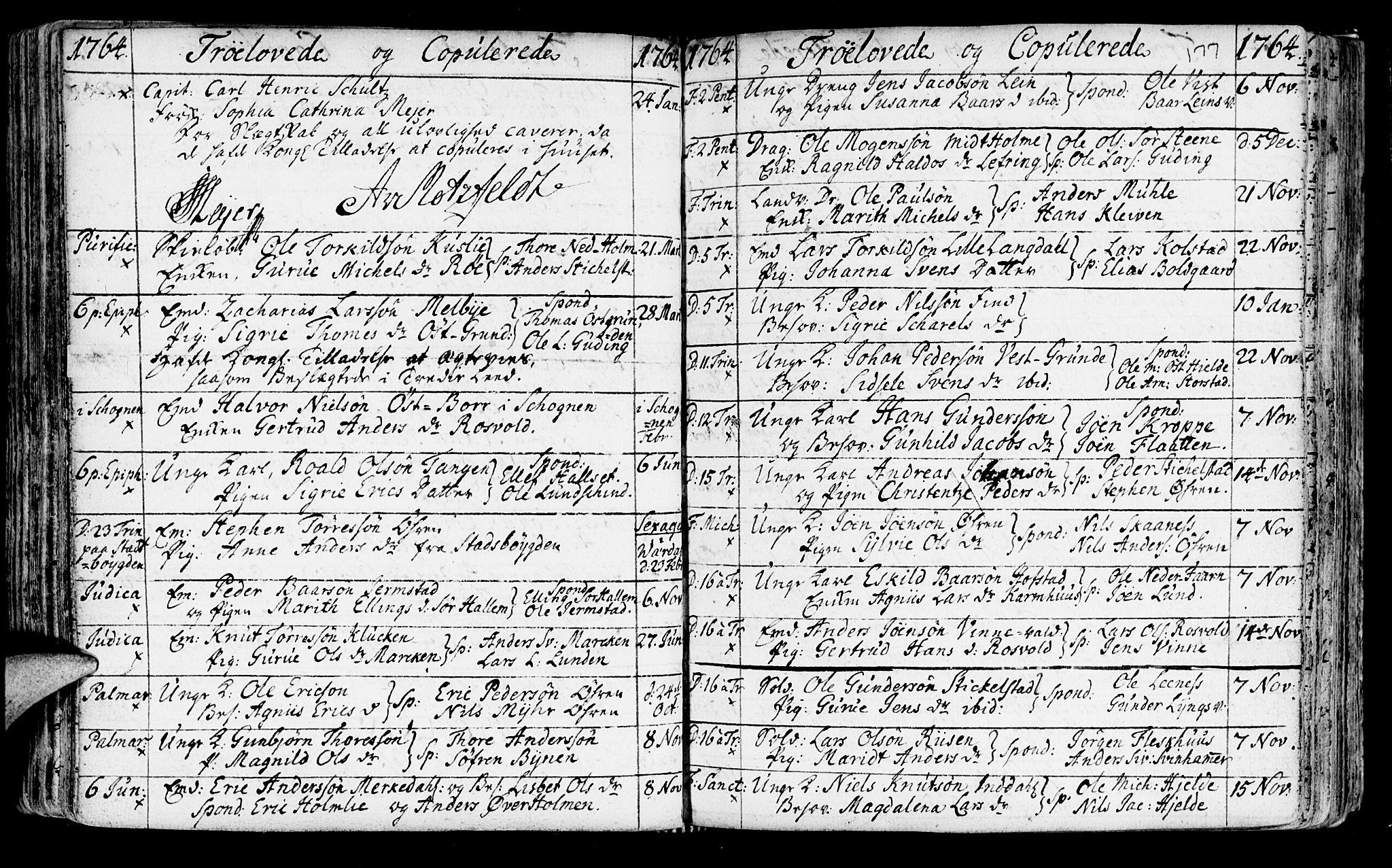 SAT, Ministerialprotokoller, klokkerbøker og fødselsregistre - Nord-Trøndelag, 723/L0231: Ministerialbok nr. 723A02, 1748-1780, s. 177