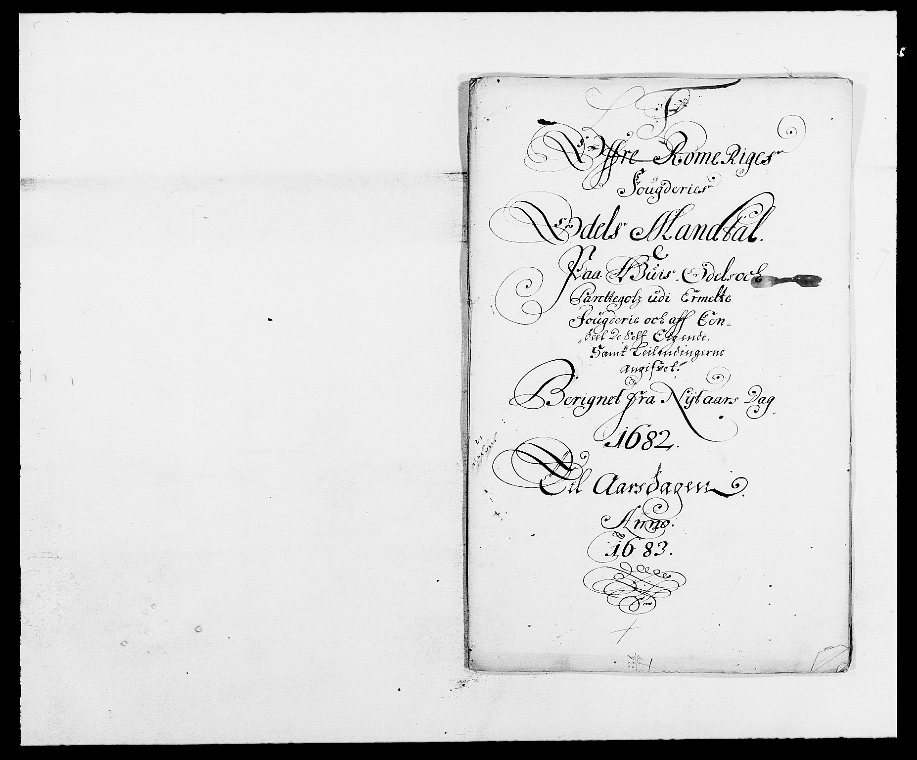 RA, Rentekammeret inntil 1814, Reviderte regnskaper, Fogderegnskap, R12/L0697: Fogderegnskap Øvre Romerike, 1682-1683, s. 186