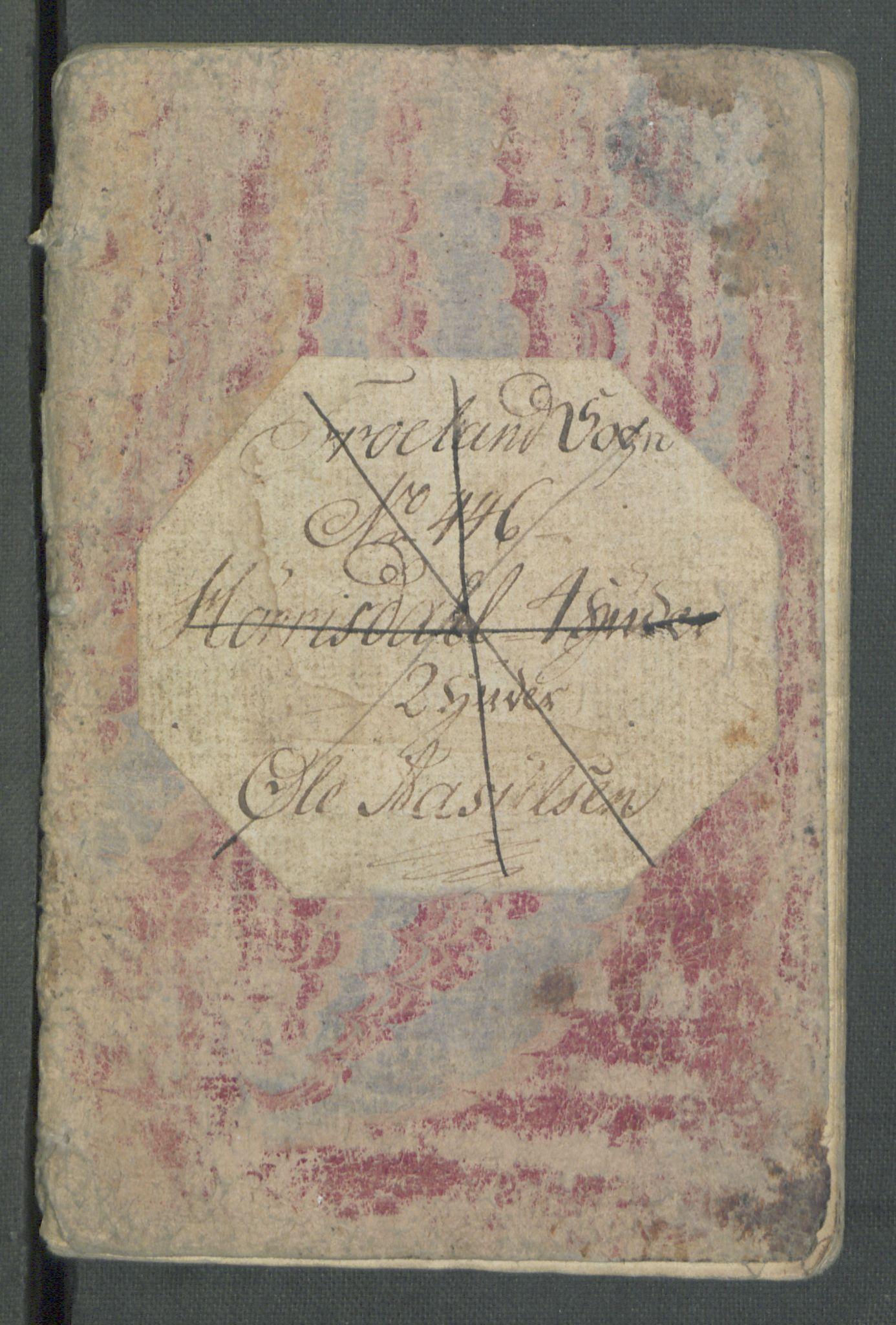 RA, Rentekammeret inntil 1814, Realistisk ordnet avdeling, Od/L0001: Oppløp, 1786-1769, s. 469