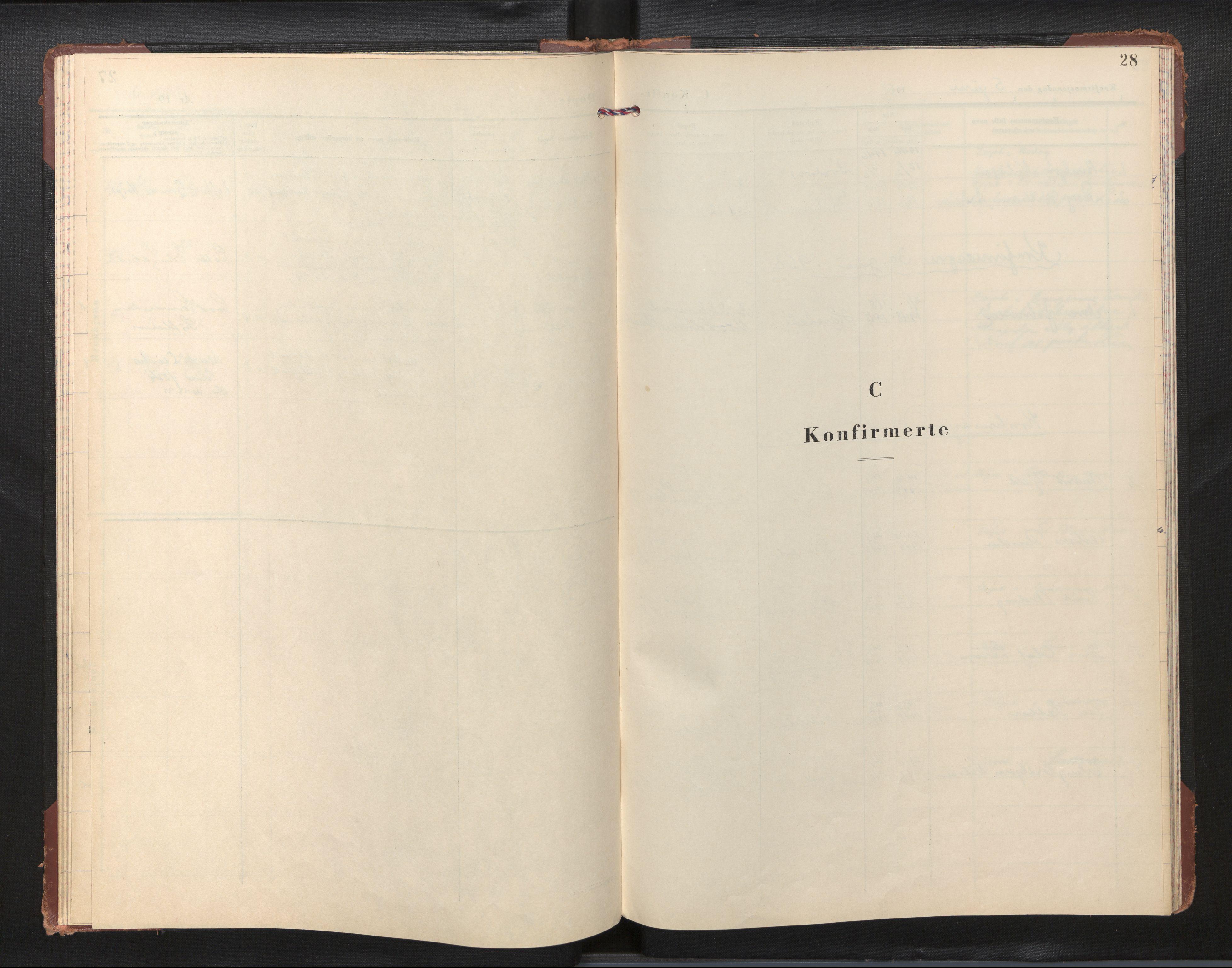 SAB, Privatarkiv 110 - Den norske sjømannsmisjon i utlandet/New York, H/Ha/L0012: Ministerialbok nr. A 12, 1958-1963, s. 27b-28a