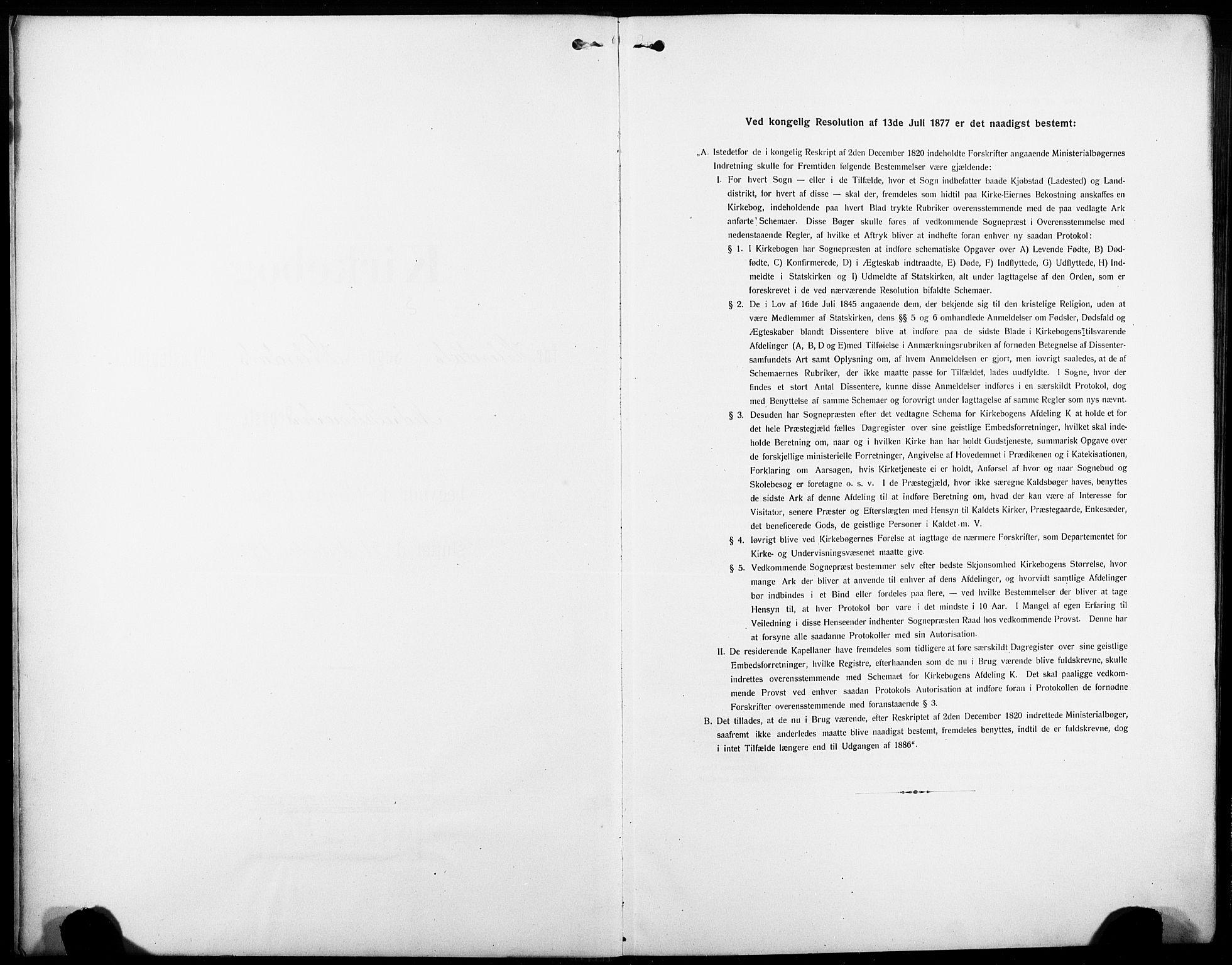 SAKO, Heddal kirkebøker, G/Ga/L0003: Klokkerbok nr. I 3, 1908-1932