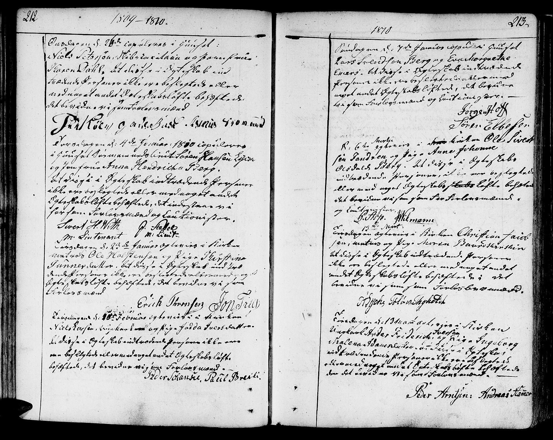 SAT, Ministerialprotokoller, klokkerbøker og fødselsregistre - Sør-Trøndelag, 602/L0105: Ministerialbok nr. 602A03, 1774-1814, s. 212-213