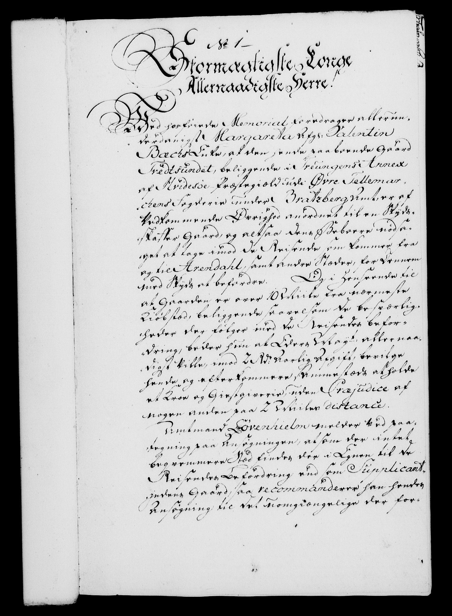 RA, Rentekammeret, Kammerkanselliet, G/Gf/Gfa/L0046: Norsk relasjons- og resolusjonsprotokoll (merket RK 52.46), 1764, s. 28