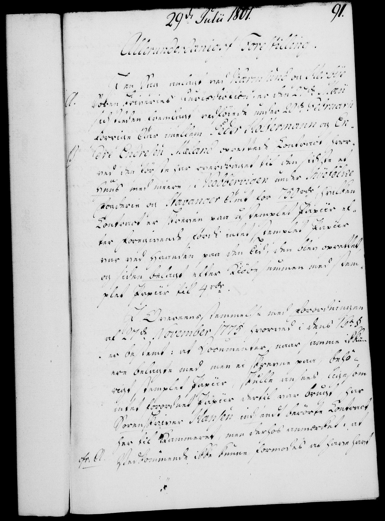 RA, Rentekammeret, Kammerkanselliet, G/Gf/Gfa/L0083: Norsk relasjons- og resolusjonsprotokoll (merket RK 52.83), 1801, s. 527