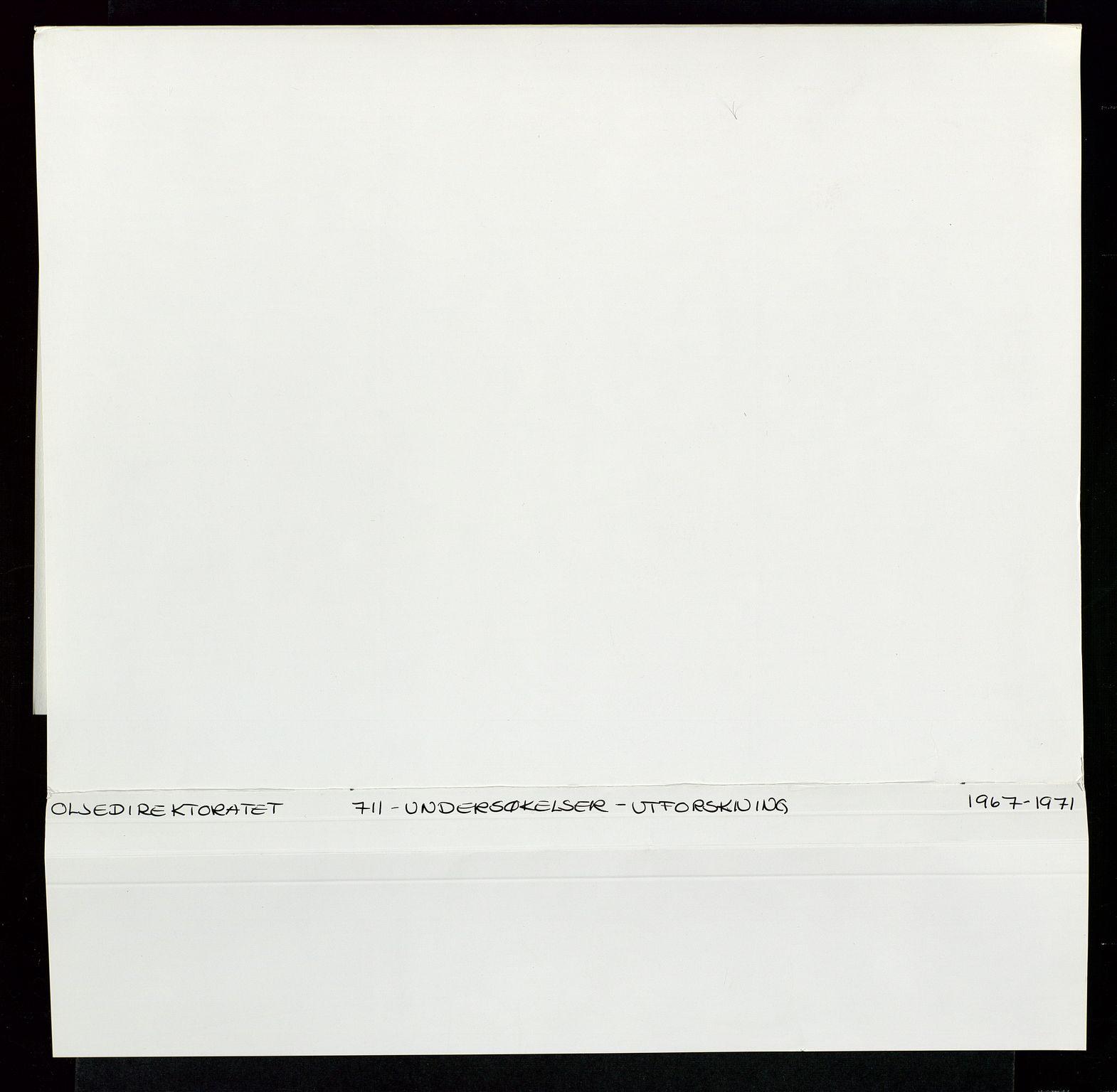 SAST, Industridepartementet, Oljekontoret, Da/L0003: Arkivnøkkel 711 Undersøkelser og utforskning, 1963-1971, s. 467