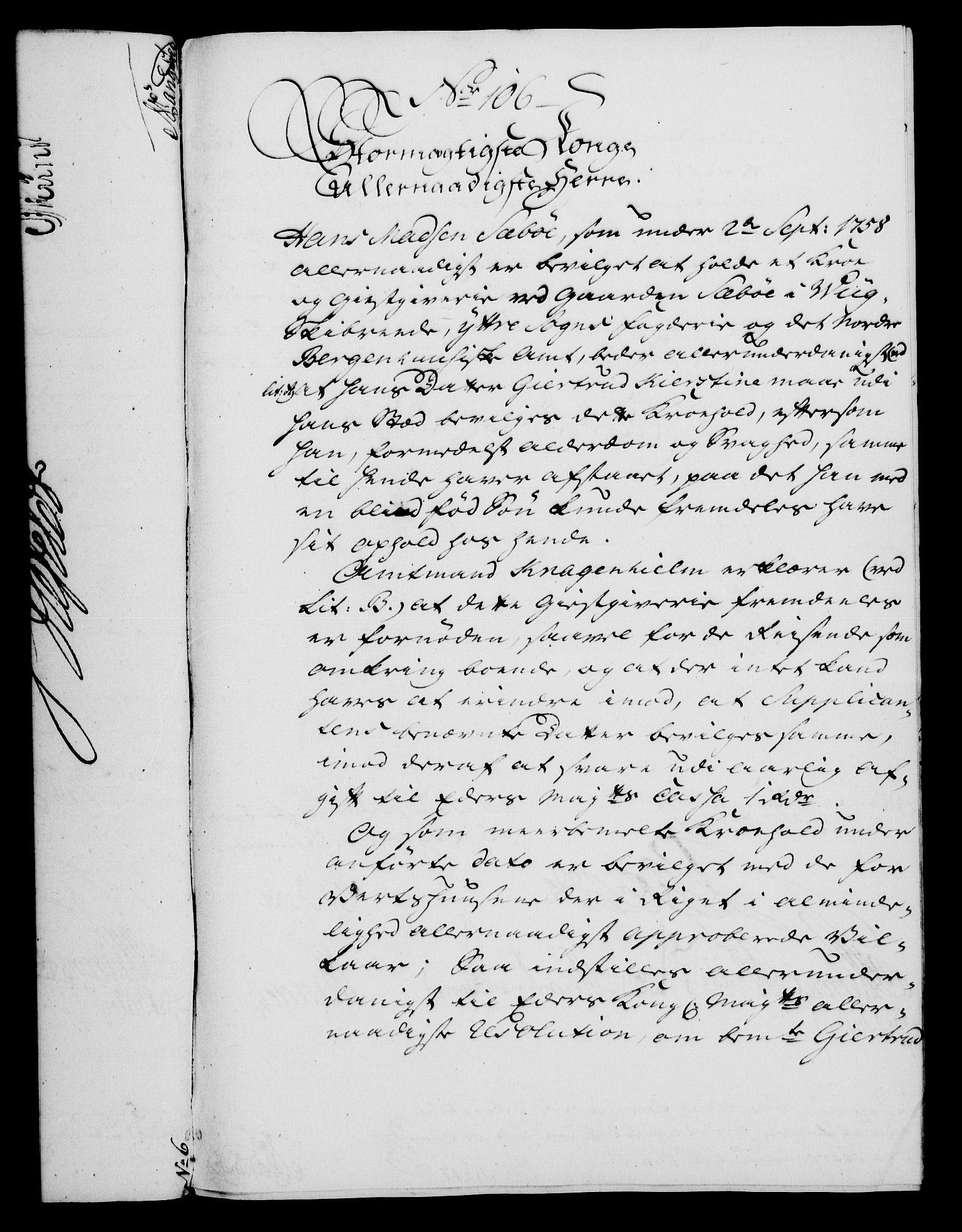 RA, Rentekammeret, Kammerkanselliet, G/Gf/Gfa/L0046: Norsk relasjons- og resolusjonsprotokoll (merket RK 52.46), 1764, s. 426