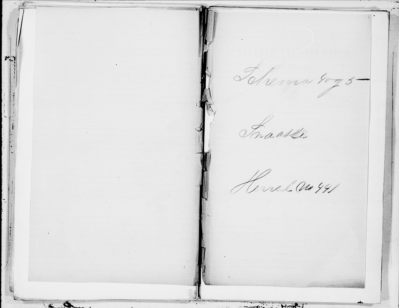 SAT, Folketelling 1900 for 1736 Snåsa herred, 1900, s. 1