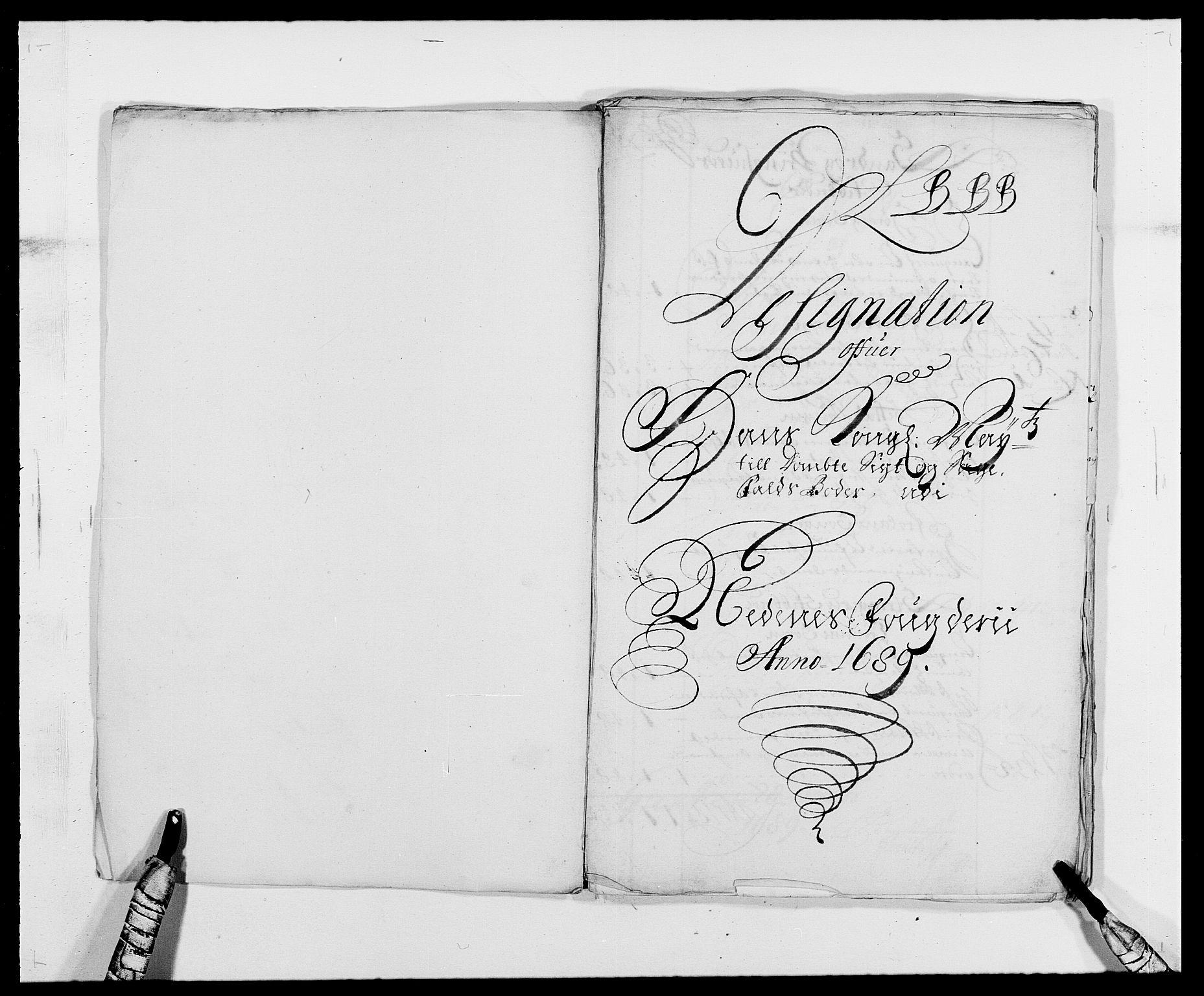 RA, Rentekammeret inntil 1814, Reviderte regnskaper, Fogderegnskap, R39/L2309: Fogderegnskap Nedenes, 1684-1689, s. 286