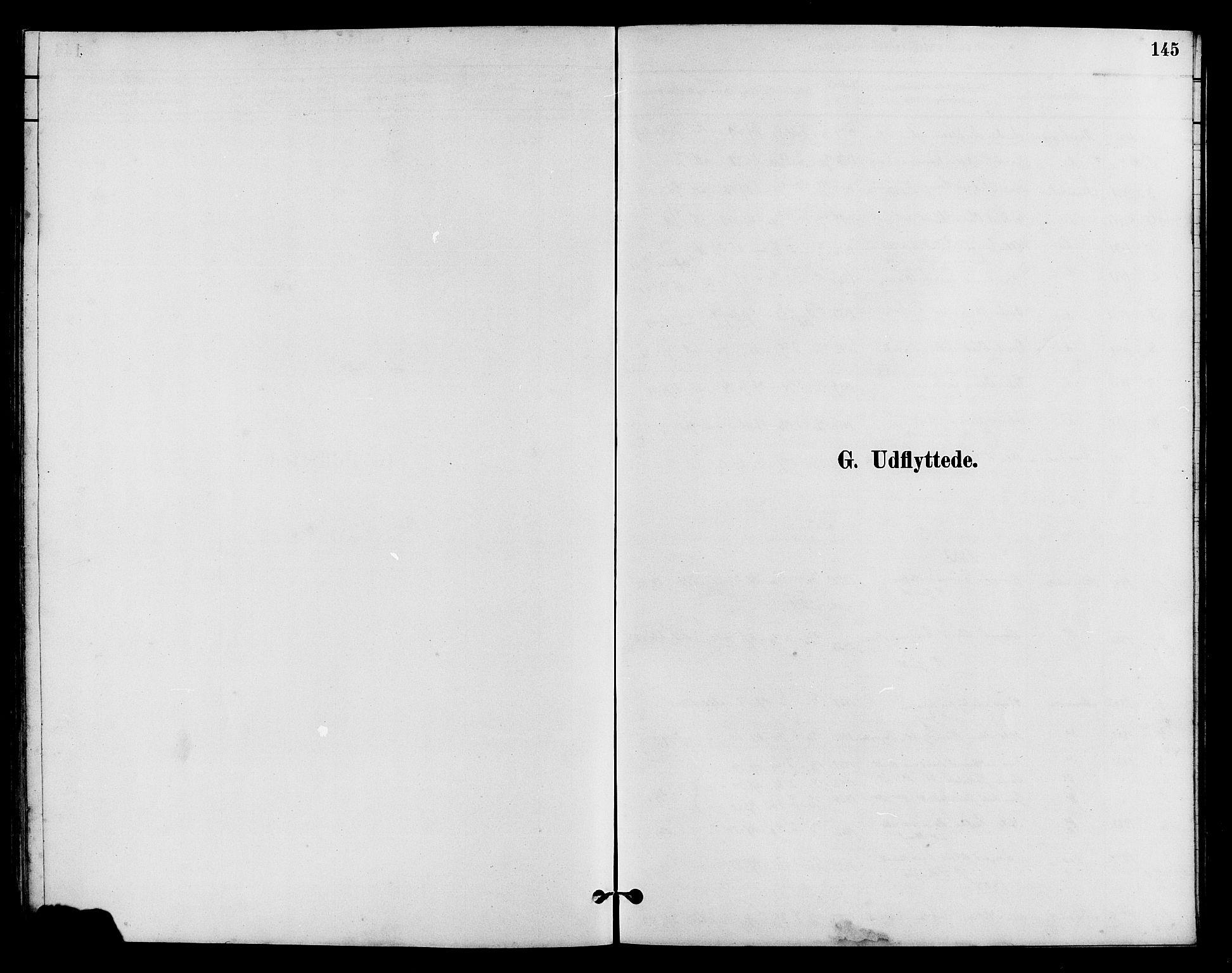 SAH, Vestre Slidre prestekontor, Klokkerbok nr. 5, 1881-1913, s. 145