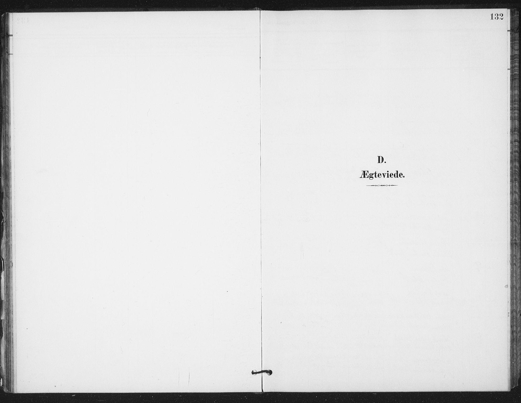 SAT, Ministerialprotokoller, klokkerbøker og fødselsregistre - Sør-Trøndelag, 658/L0723: Ministerialbok nr. 658A02, 1897-1912, s. 132