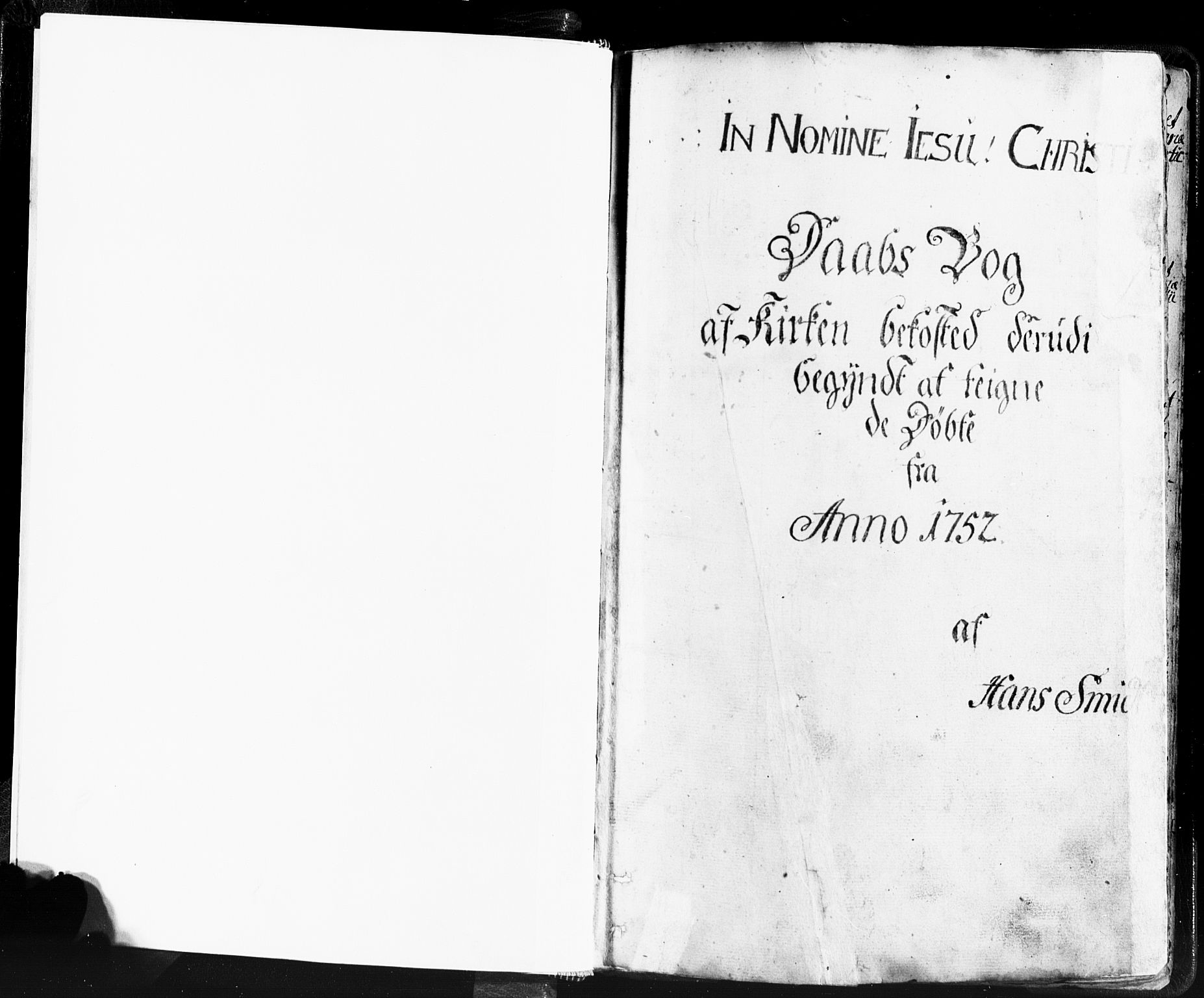 SAST, Domkirken sokneprestkontor, 30/30BB/L0004: Klokkerbok nr. B 4, 1752-1790