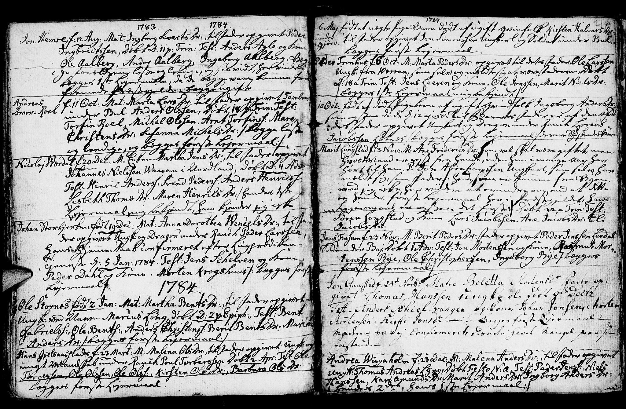 SAT, Ministerialprotokoller, klokkerbøker og fødselsregistre - Nord-Trøndelag, 730/L0273: Ministerialbok nr. 730A02, 1762-1802, s. 214