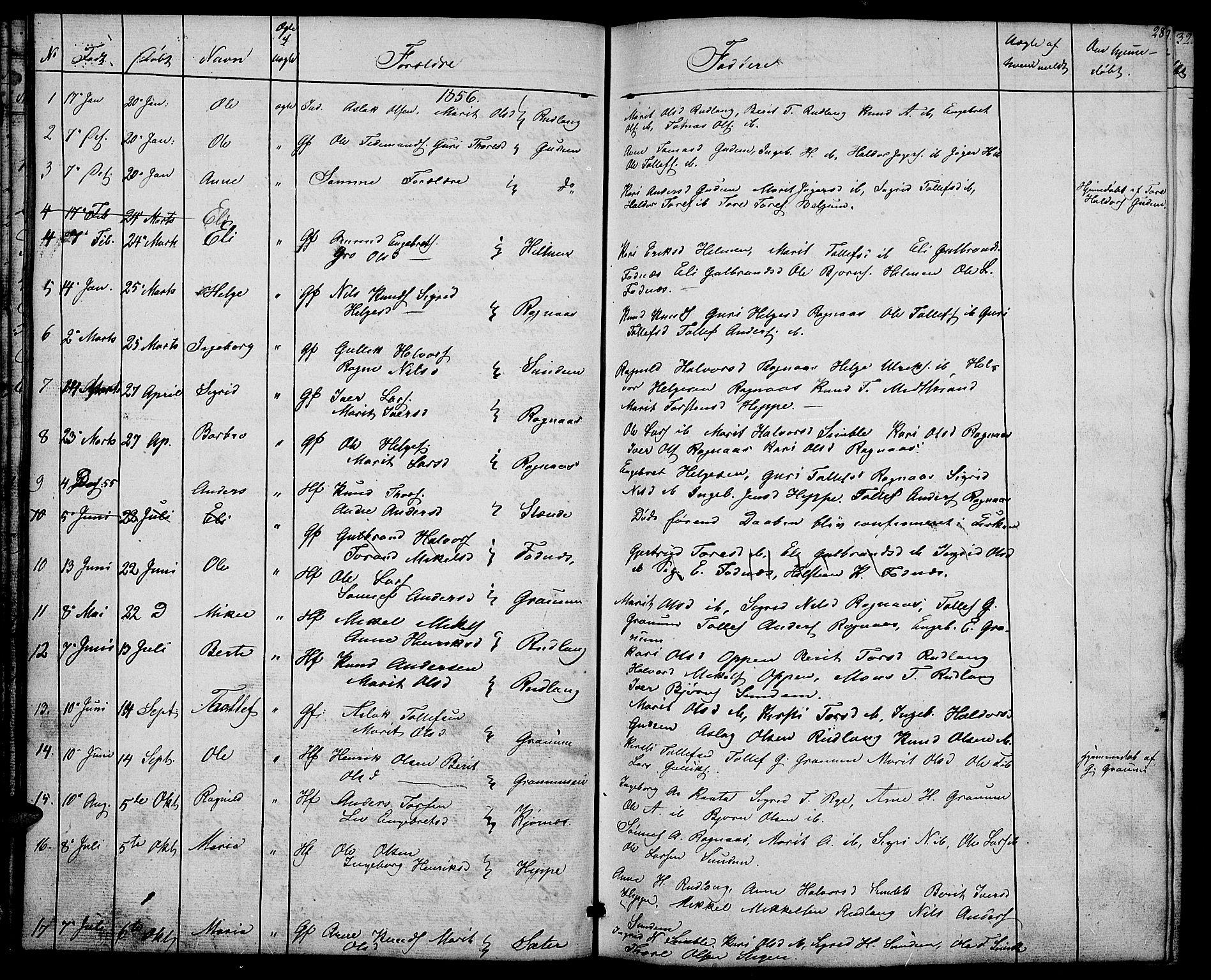 SAH, Nord-Aurdal prestekontor, Klokkerbok nr. 4, 1842-1882, s. 28
