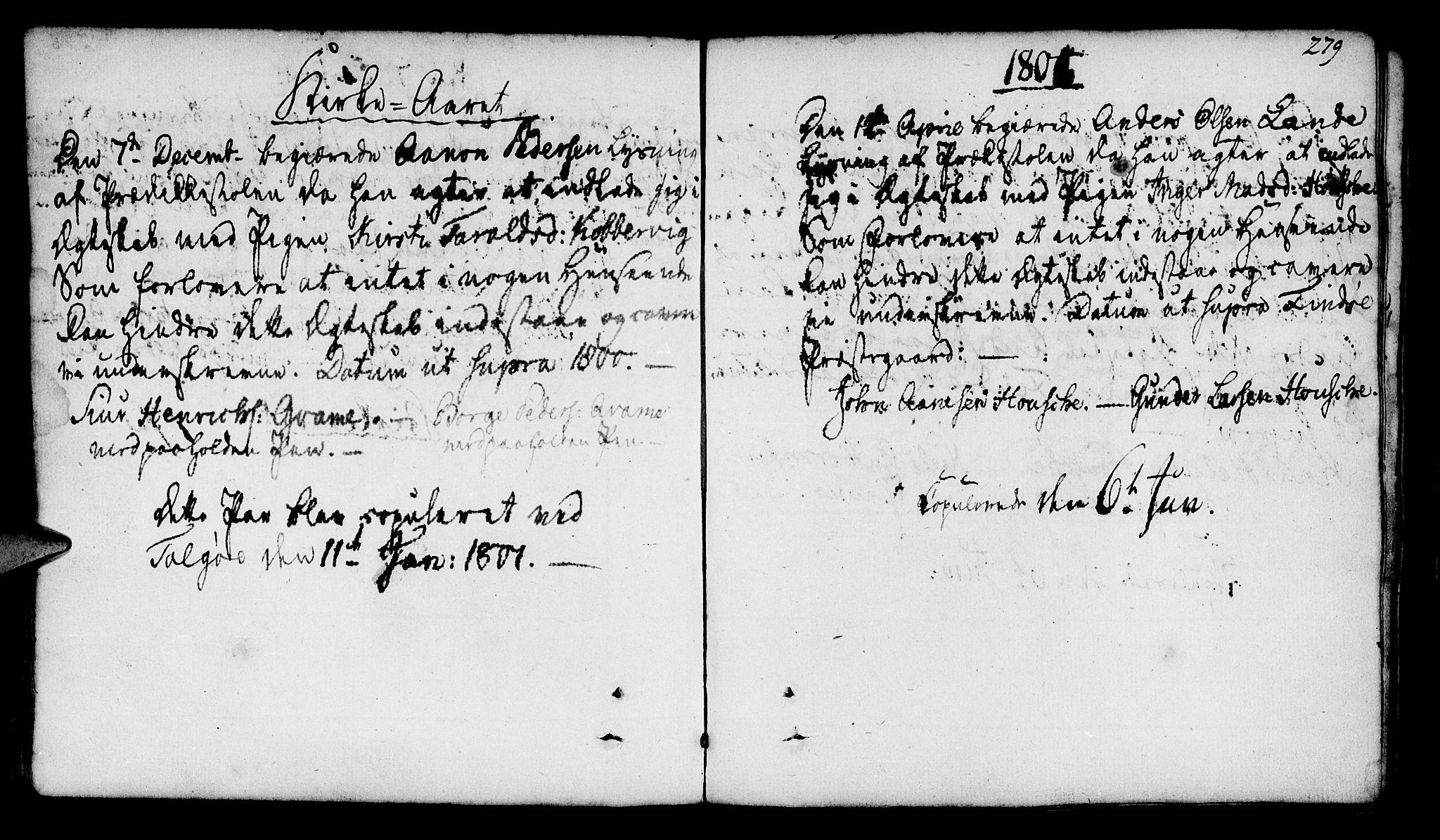 SAST, Finnøy sokneprestkontor, H/Ha/Haa/L0005: Ministerialbok nr. A 5, 1773-1816, s. 279