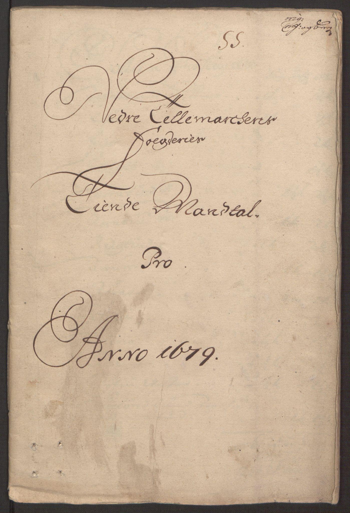 RA, Rentekammeret inntil 1814, Reviderte regnskaper, Fogderegnskap, R35/L2072: Fogderegnskap Øvre og Nedre Telemark, 1679, s. 220