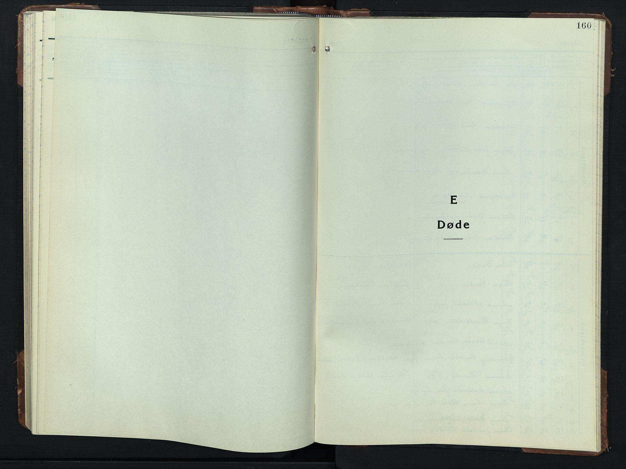 SAH, Sel prestekontor, Klokkerbok nr. 3, 1940-1951, s. 160