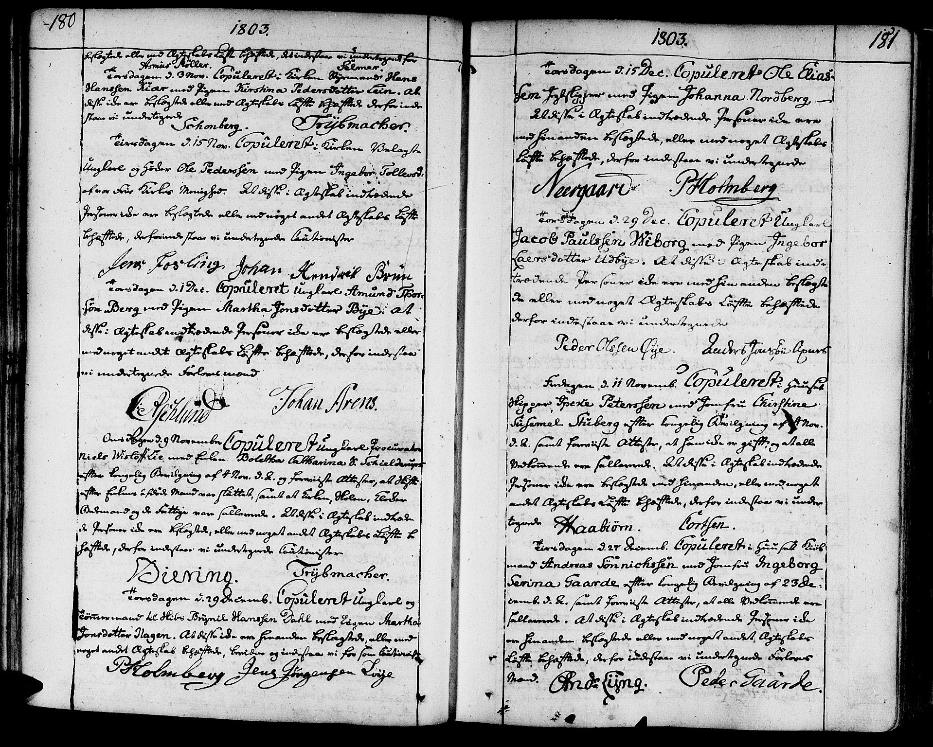 SAT, Ministerialprotokoller, klokkerbøker og fødselsregistre - Sør-Trøndelag, 602/L0105: Ministerialbok nr. 602A03, 1774-1814, s. 180-181
