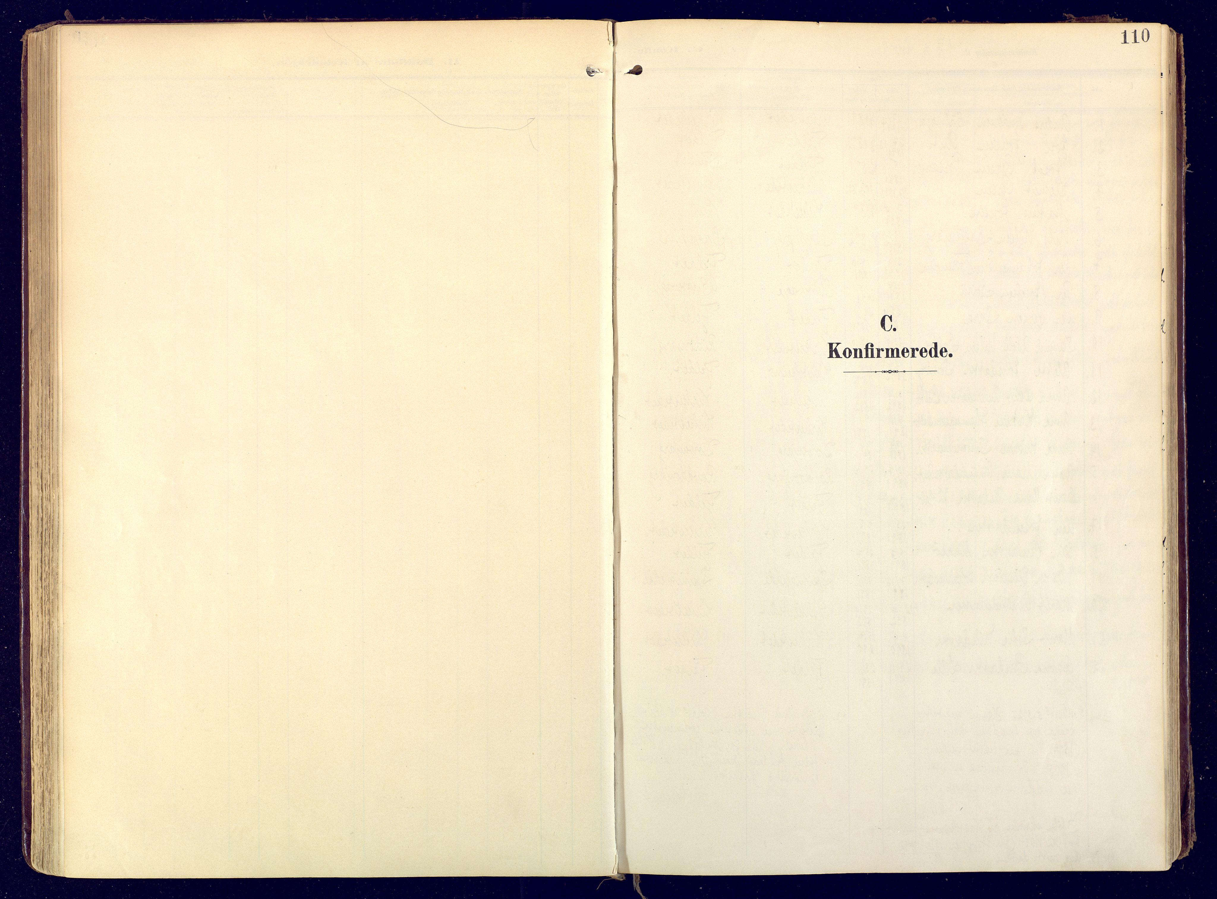 SATØ, Karasjok sokneprestkontor, H/Ha: Ministerialbok nr. 3, 1907-1926, s. 110