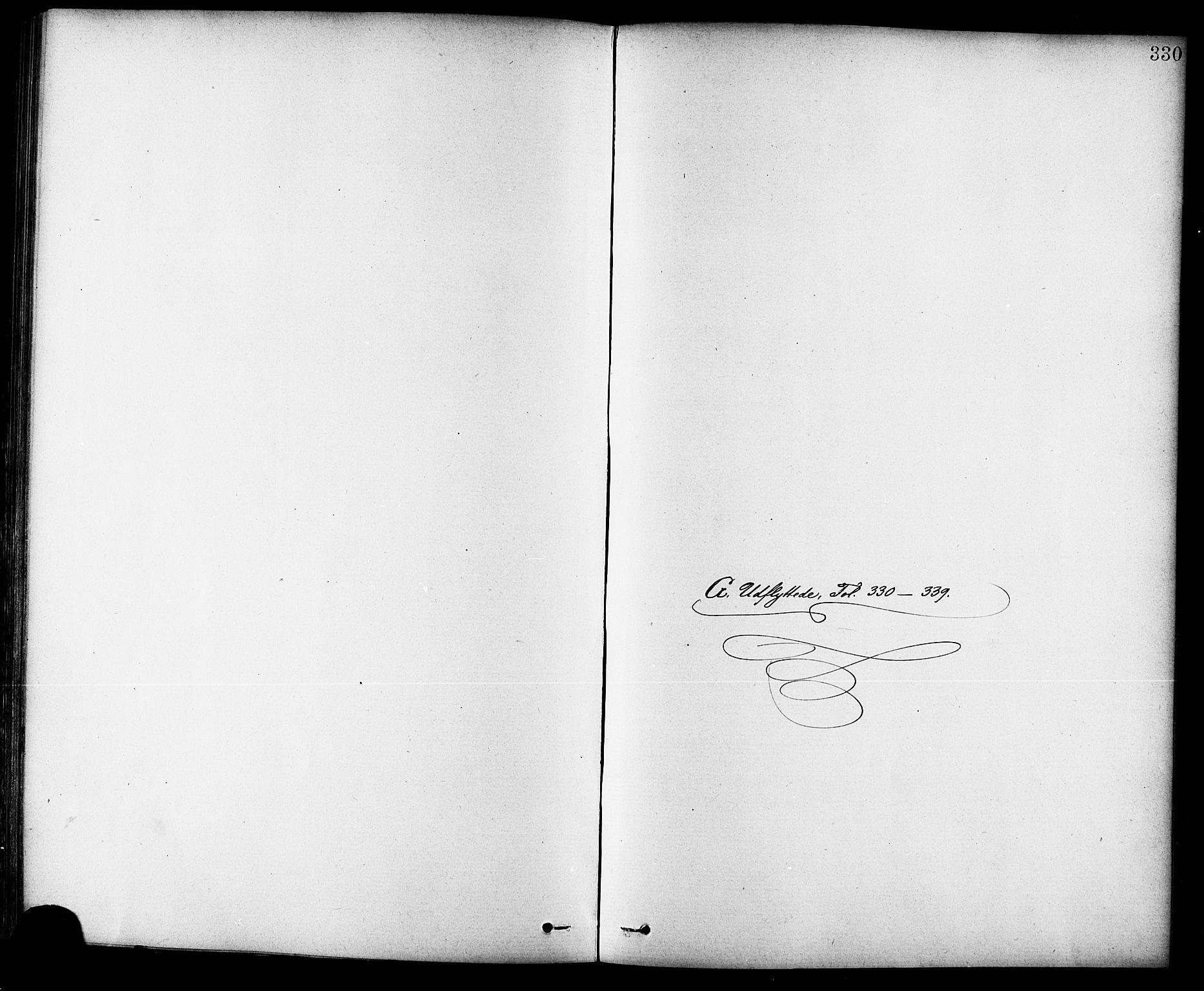 SAT, Ministerialprotokoller, klokkerbøker og fødselsregistre - Sør-Trøndelag, 691/L1094: Klokkerbok nr. 691C05, 1879-1911, s. 330