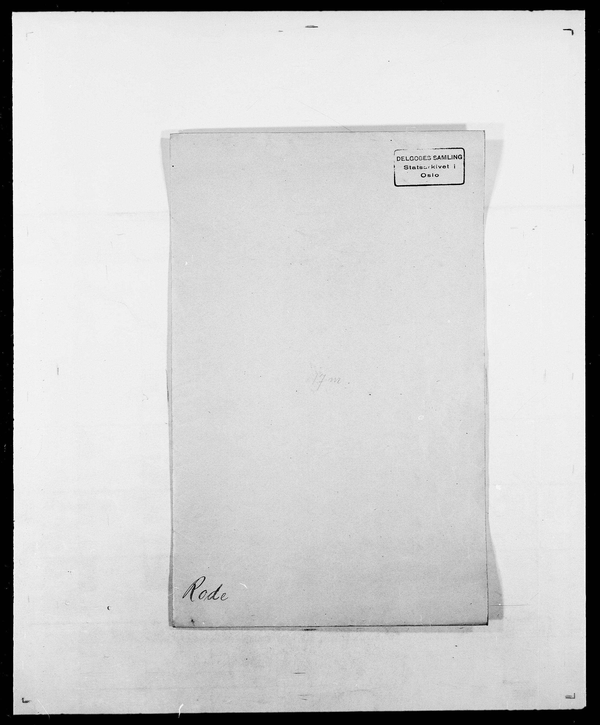 SAO, Delgobe, Charles Antoine - samling, D/Da/L0033: Roald - Røyem, s. 24