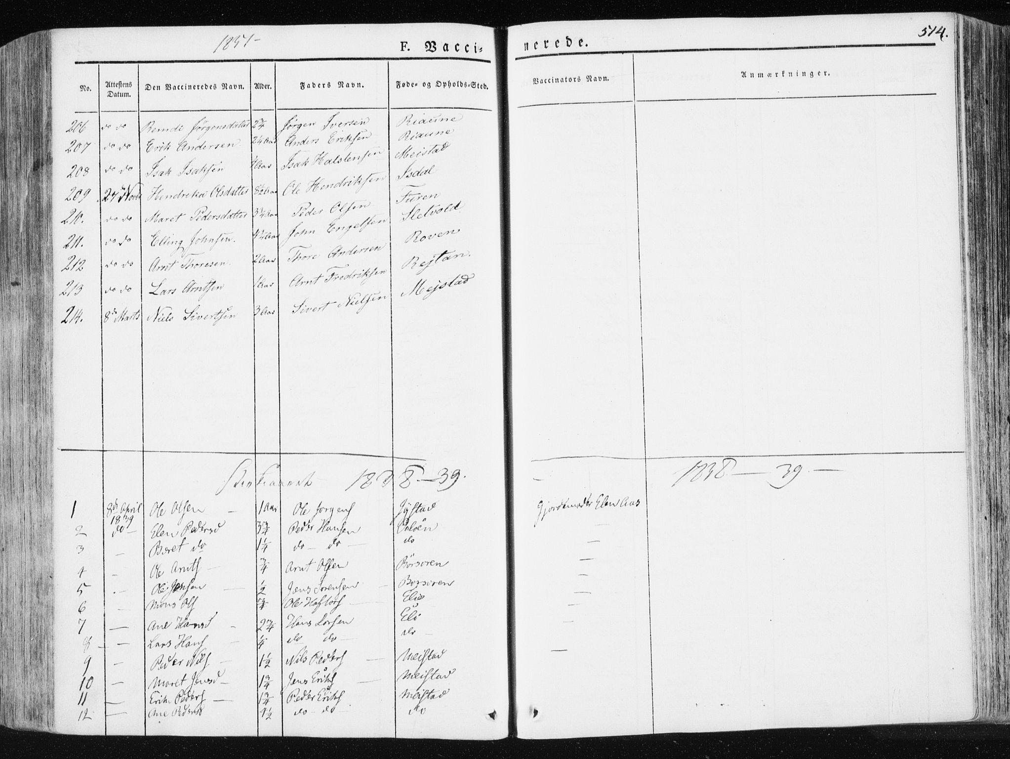SAT, Ministerialprotokoller, klokkerbøker og fødselsregistre - Sør-Trøndelag, 665/L0771: Ministerialbok nr. 665A06, 1830-1856, s. 514