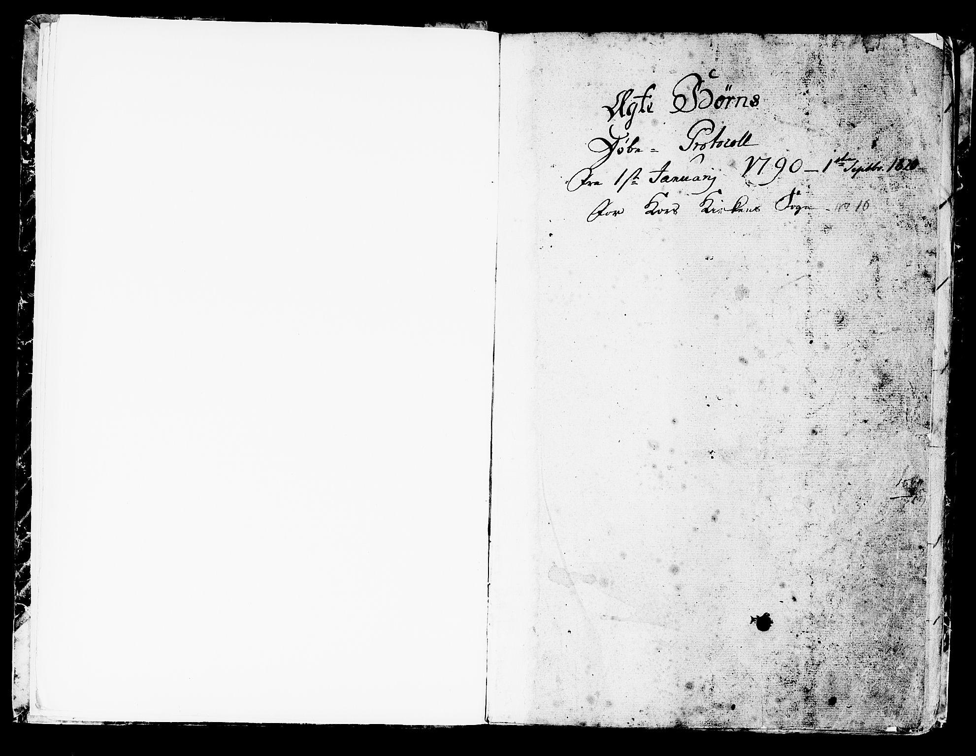 SAB, Korskirken Sokneprestembete, H/Haa/L0006: Ministerialbok nr. A 6, 1790-1820
