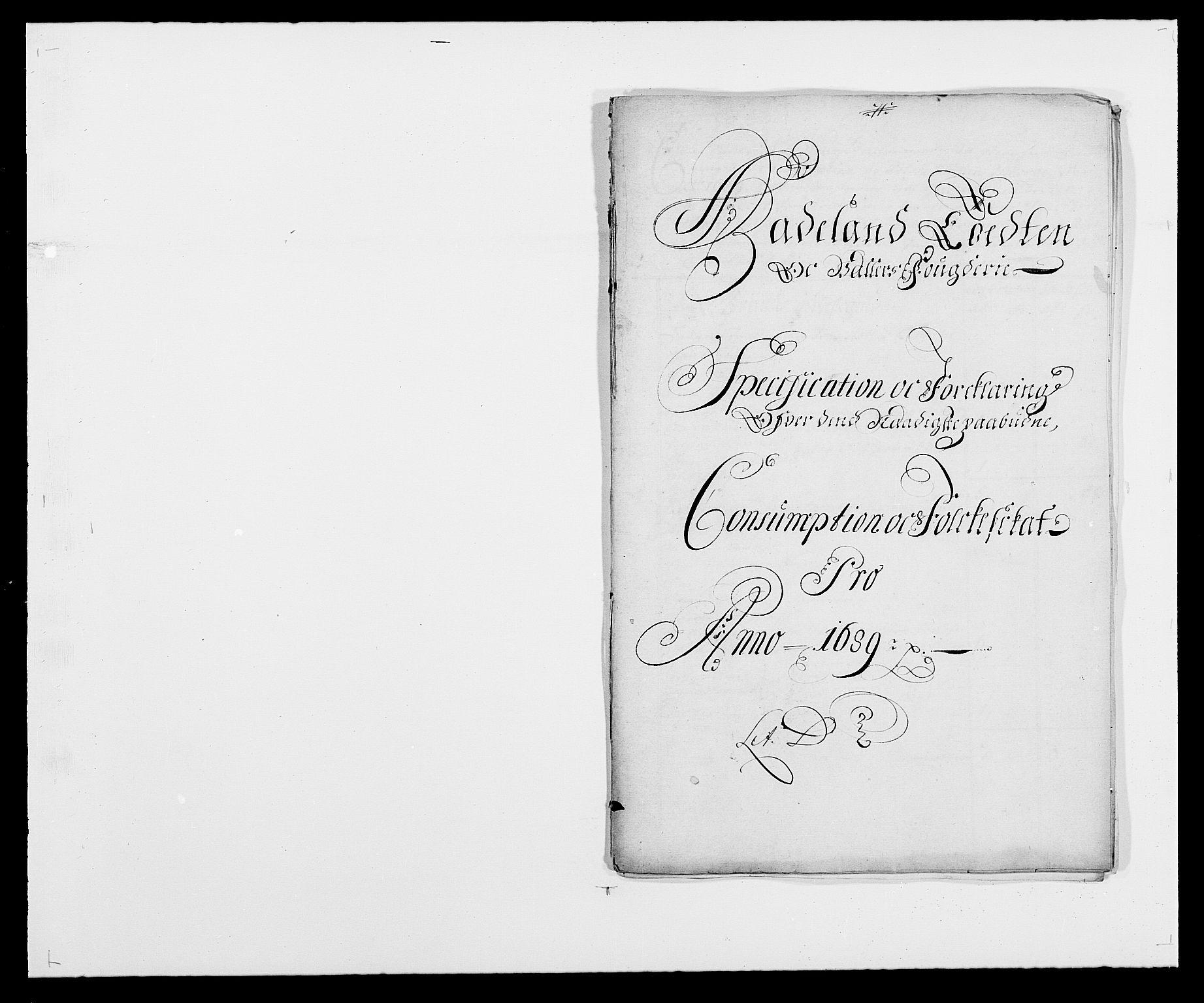 RA, Rentekammeret inntil 1814, Reviderte regnskaper, Fogderegnskap, R18/L1288: Fogderegnskap Hadeland, Toten og Valdres, 1689, s. 190
