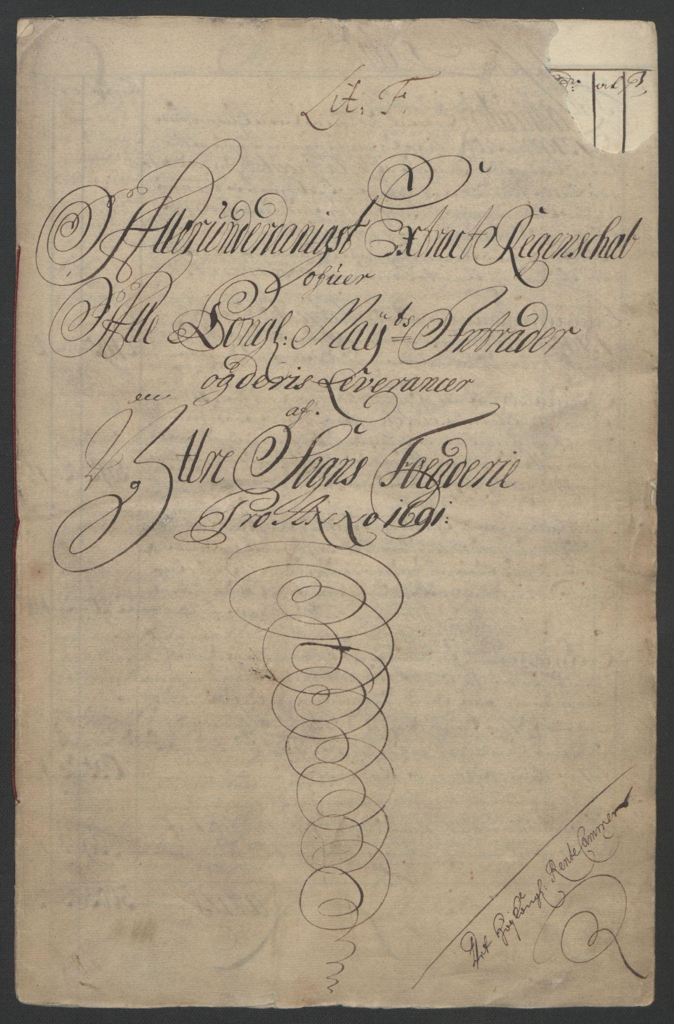RA, Rentekammeret inntil 1814, Reviderte regnskaper, Fogderegnskap, R52/L3306: Fogderegnskap Sogn, 1691-1692, s. 43