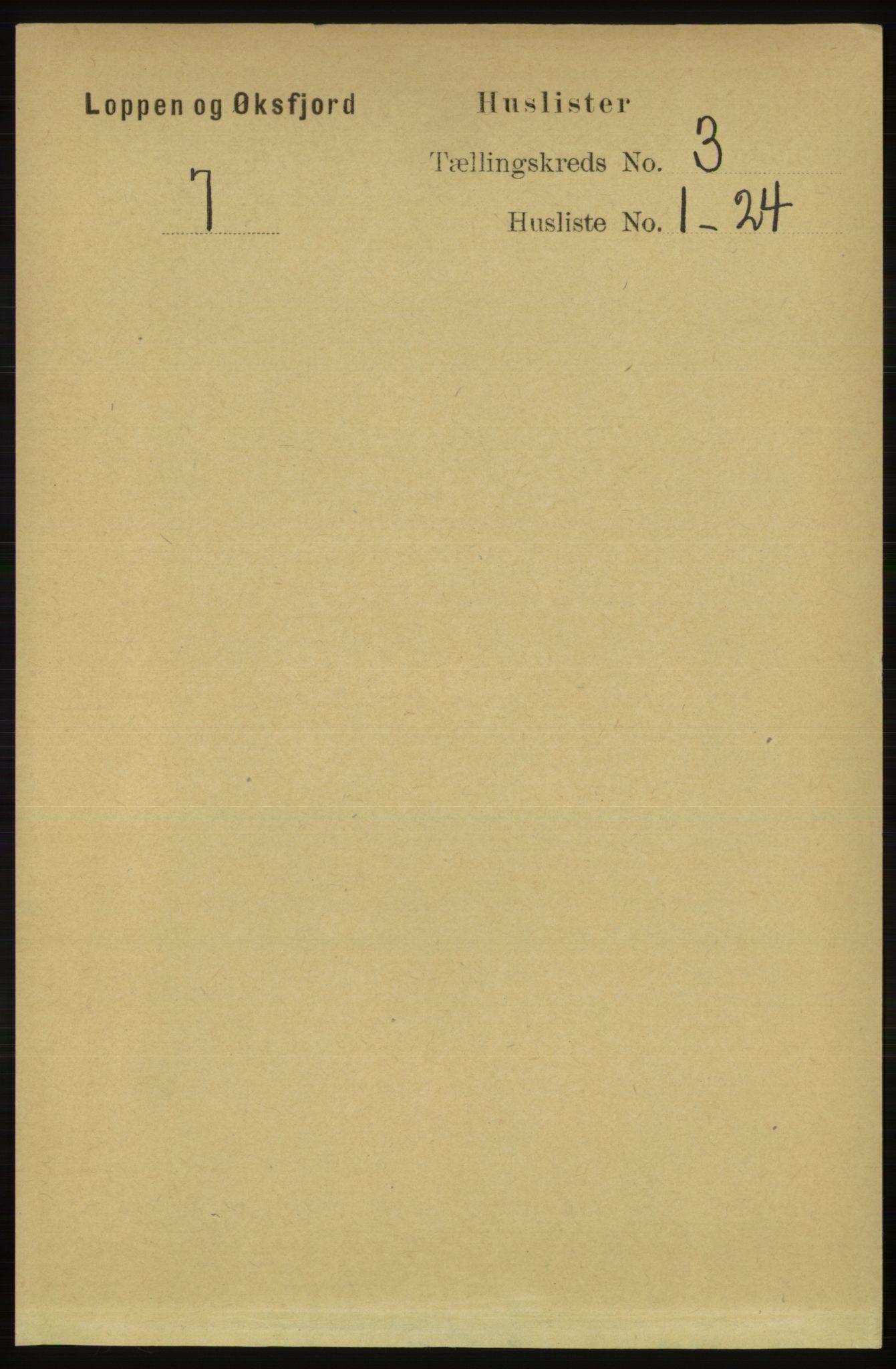 RA, Folketelling 1891 for 2014 Loppa herred, 1891, s. 648