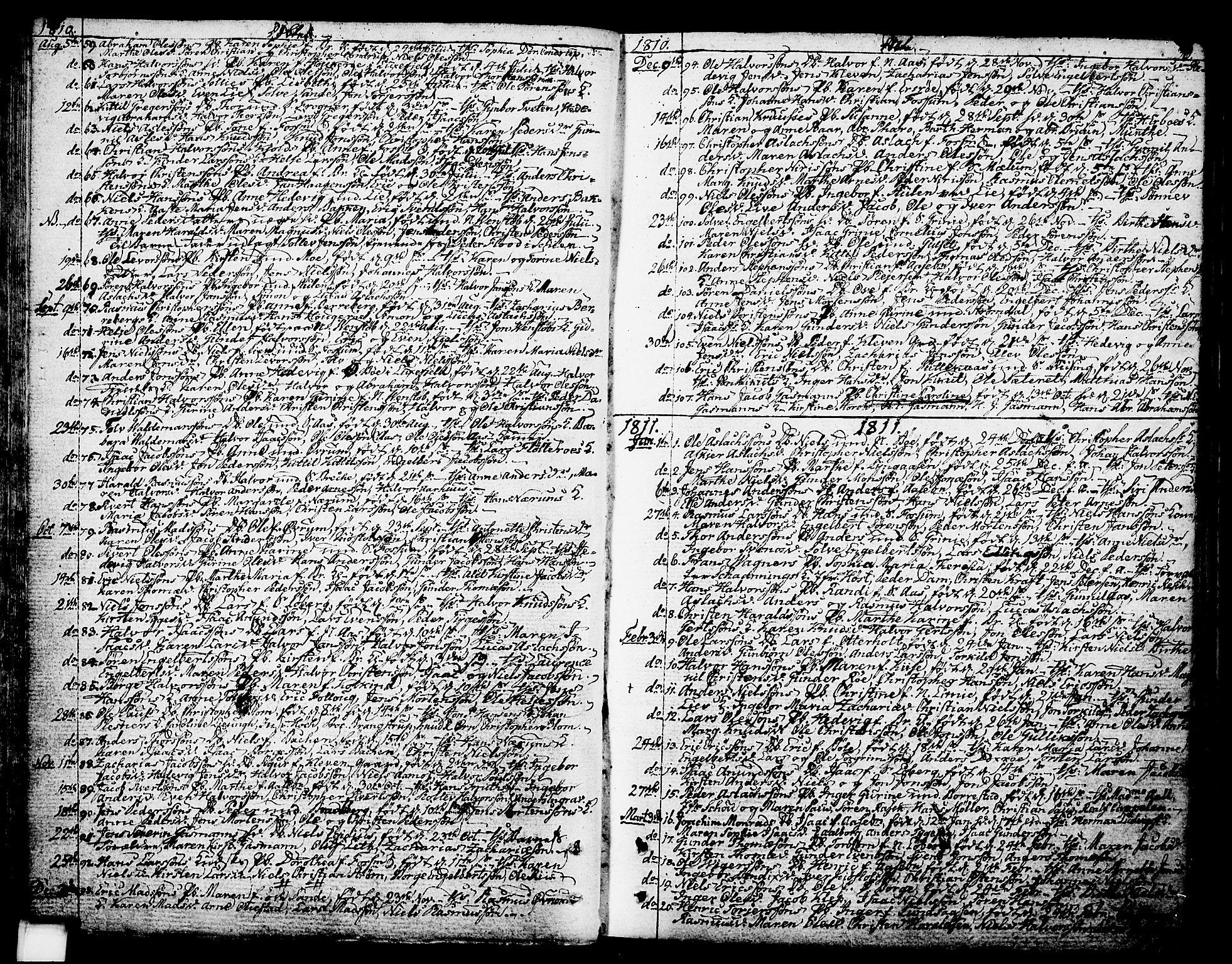 SAKO, Gjerpen kirkebøker, F/Fa/L0003: Ministerialbok nr. 3, 1796-1814, s. 36