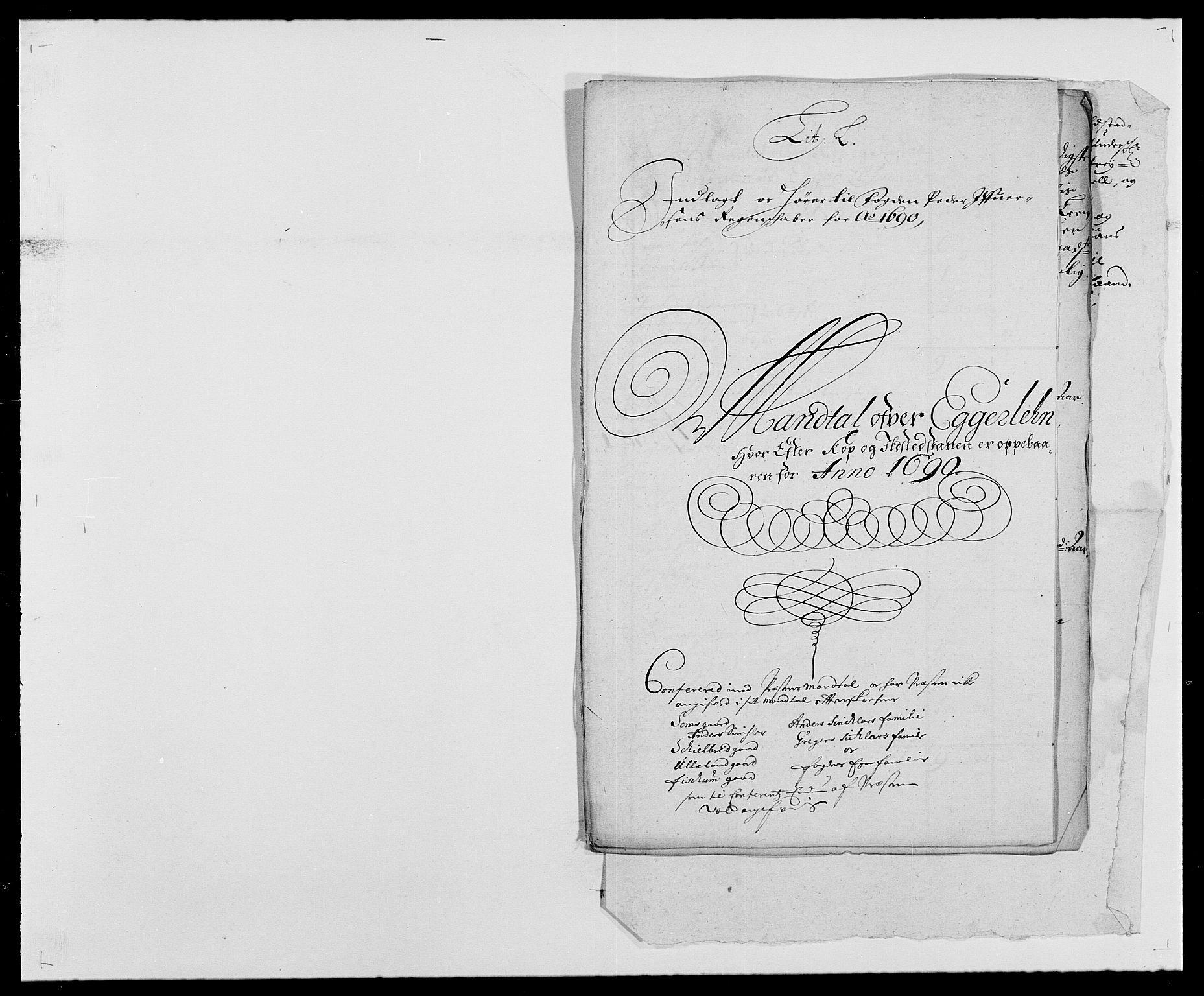 RA, Rentekammeret inntil 1814, Reviderte regnskaper, Fogderegnskap, R28/L1689: Fogderegnskap Eiker og Lier, 1690-1691, s. 112