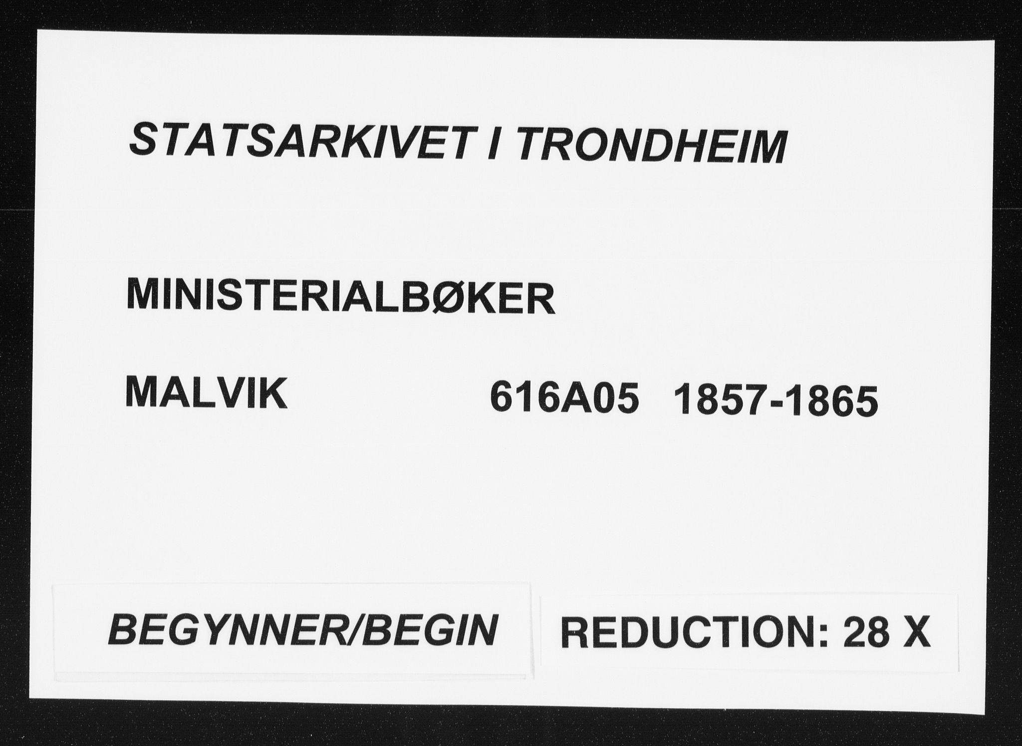 SAT, Ministerialprotokoller, klokkerbøker og fødselsregistre - Sør-Trøndelag, 616/L0408: Ministerialbok nr. 616A05, 1857-1865