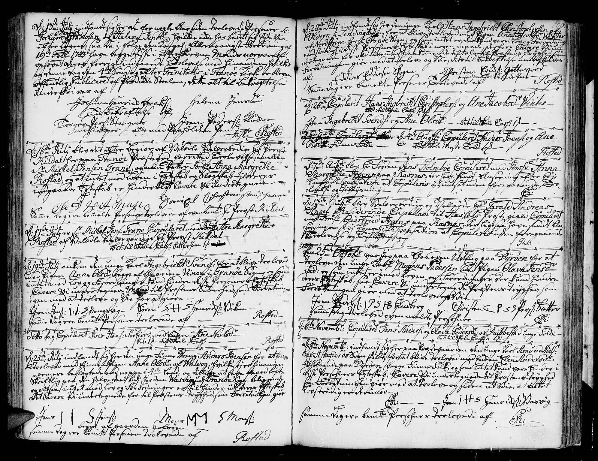SATØ, Tranøy sokneprestkontor, I/Ia/Iaa/L0002kirke: Ministerialbok nr. 2, 1773-1806, s. 168