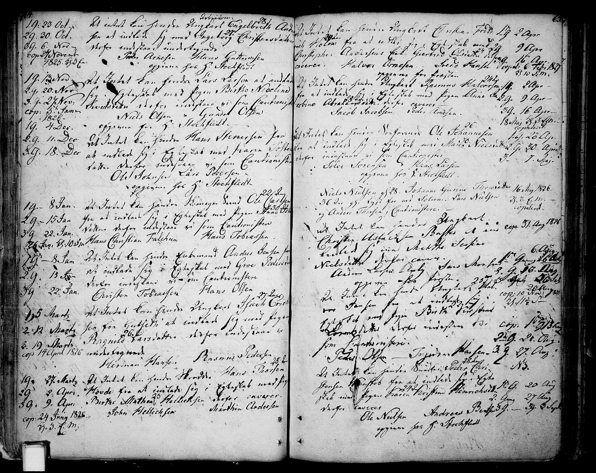 SAKO, Skien kirkebøker, F/Fa/L0004: Ministerialbok nr. 4, 1792-1814, s. 64-65
