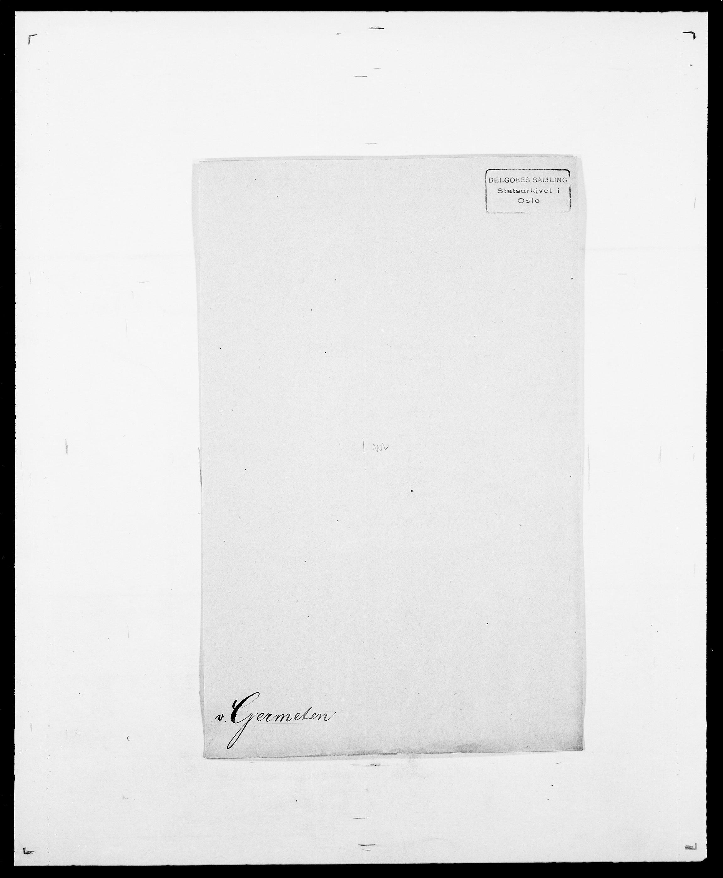 SAO, Delgobe, Charles Antoine - samling, D/Da/L0013: Forbos - Geving, s. 622