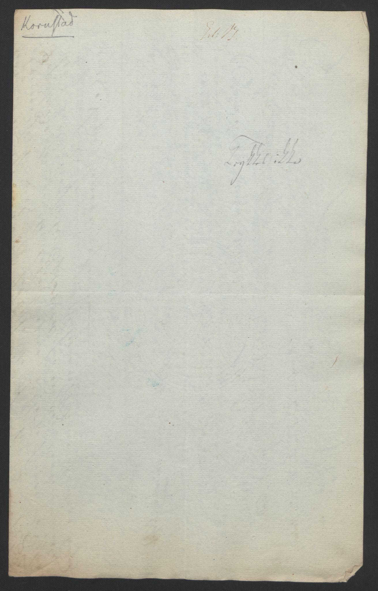 RA, Statsrådssekretariatet, D/Db/L0008: Fullmakter for Eidsvollsrepresentantene i 1814. , 1814, s. 389
