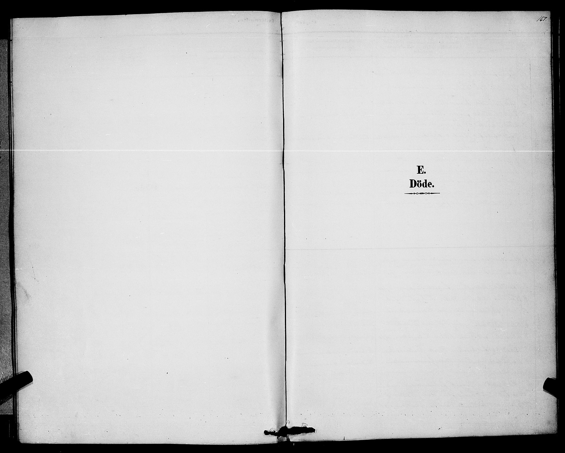SAKO, Bø kirkebøker, G/Ga/L0005: Klokkerbok nr. 5, 1883-1897, s. 167