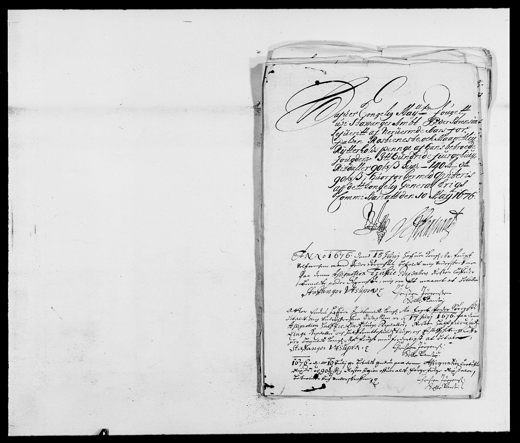 RA, Rentekammeret inntil 1814, Reviderte regnskaper, Fogderegnskap, R46/L2716: Fogderegnskap Jæren og Dalane, 1676, s. 320
