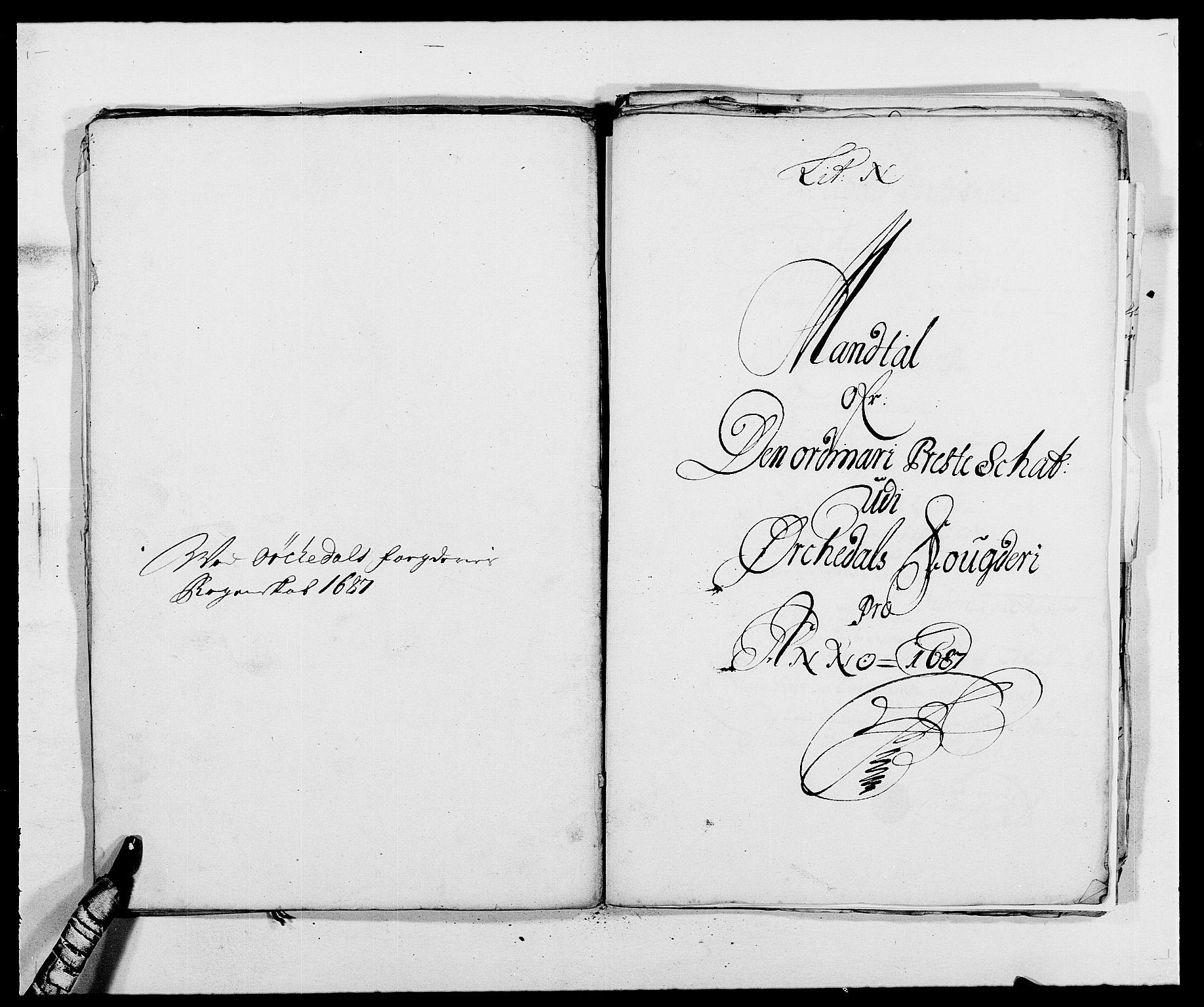 RA, Rentekammeret inntil 1814, Reviderte regnskaper, Fogderegnskap, R58/L3935: Fogderegnskap Orkdal, 1687-1688, s. 146